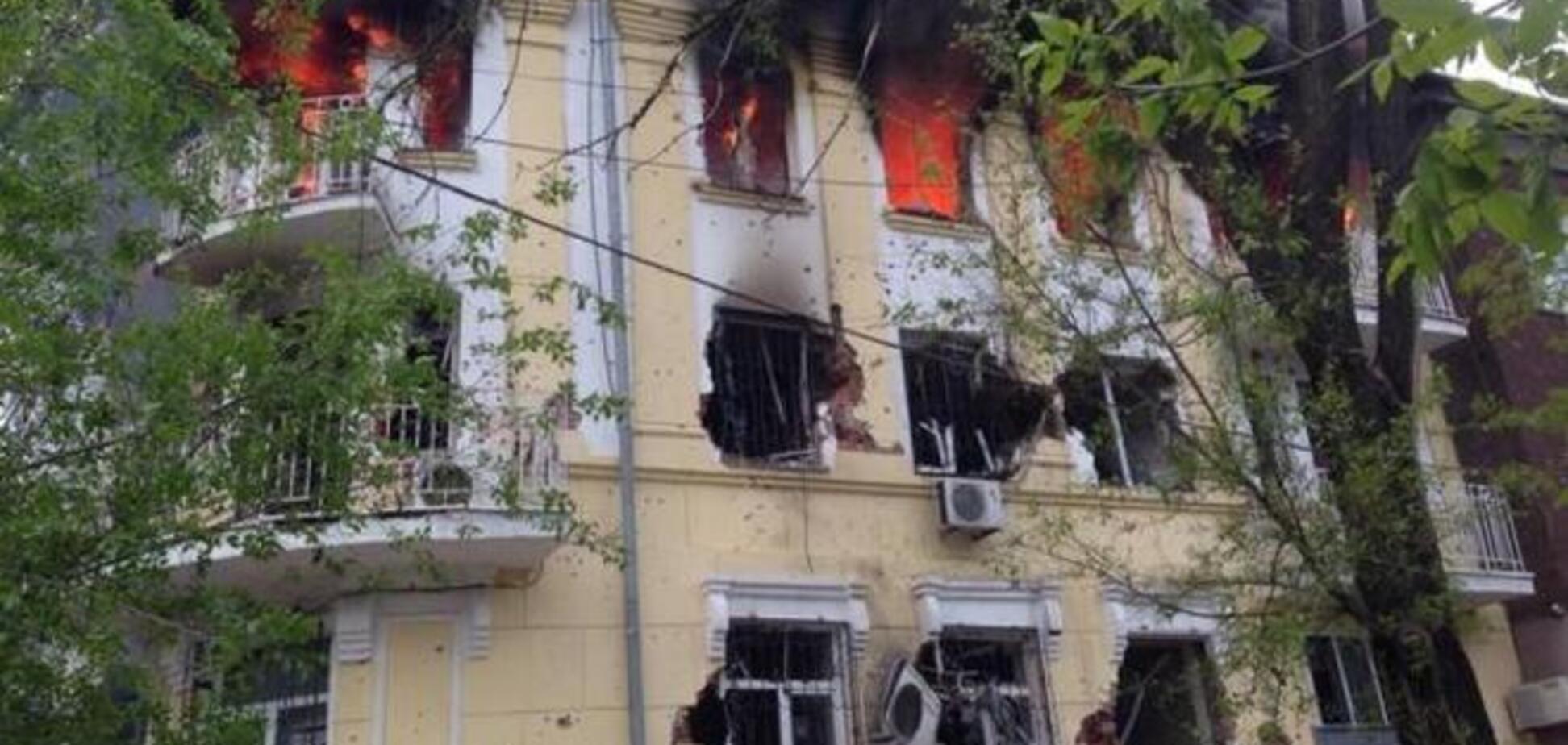 Ляшко: здание УВД Мариуполя полностью блокировано