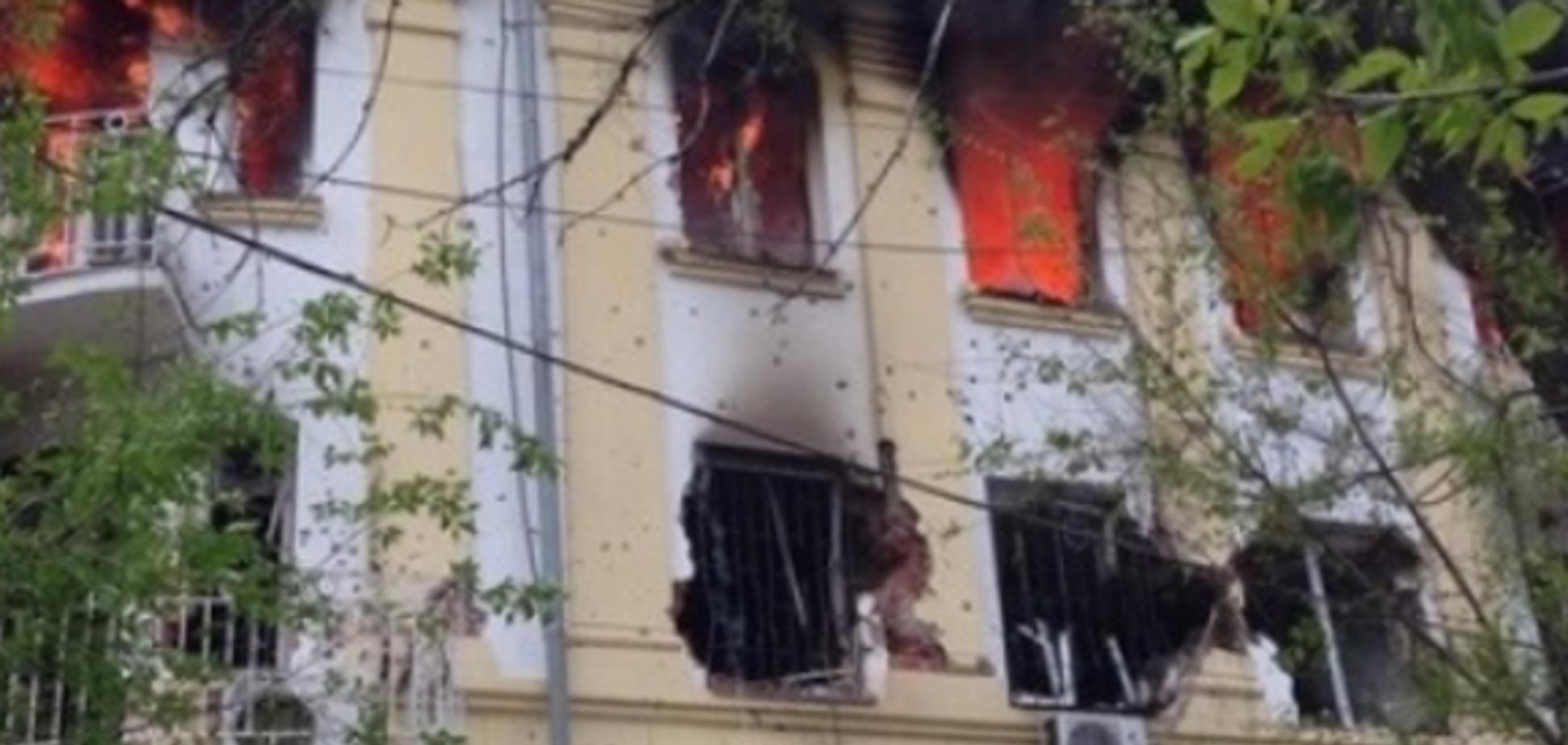 У Маріуполі знищено 20 терористів, 4 взяті в полон, убитий один міліціонер. Пряма трансляція