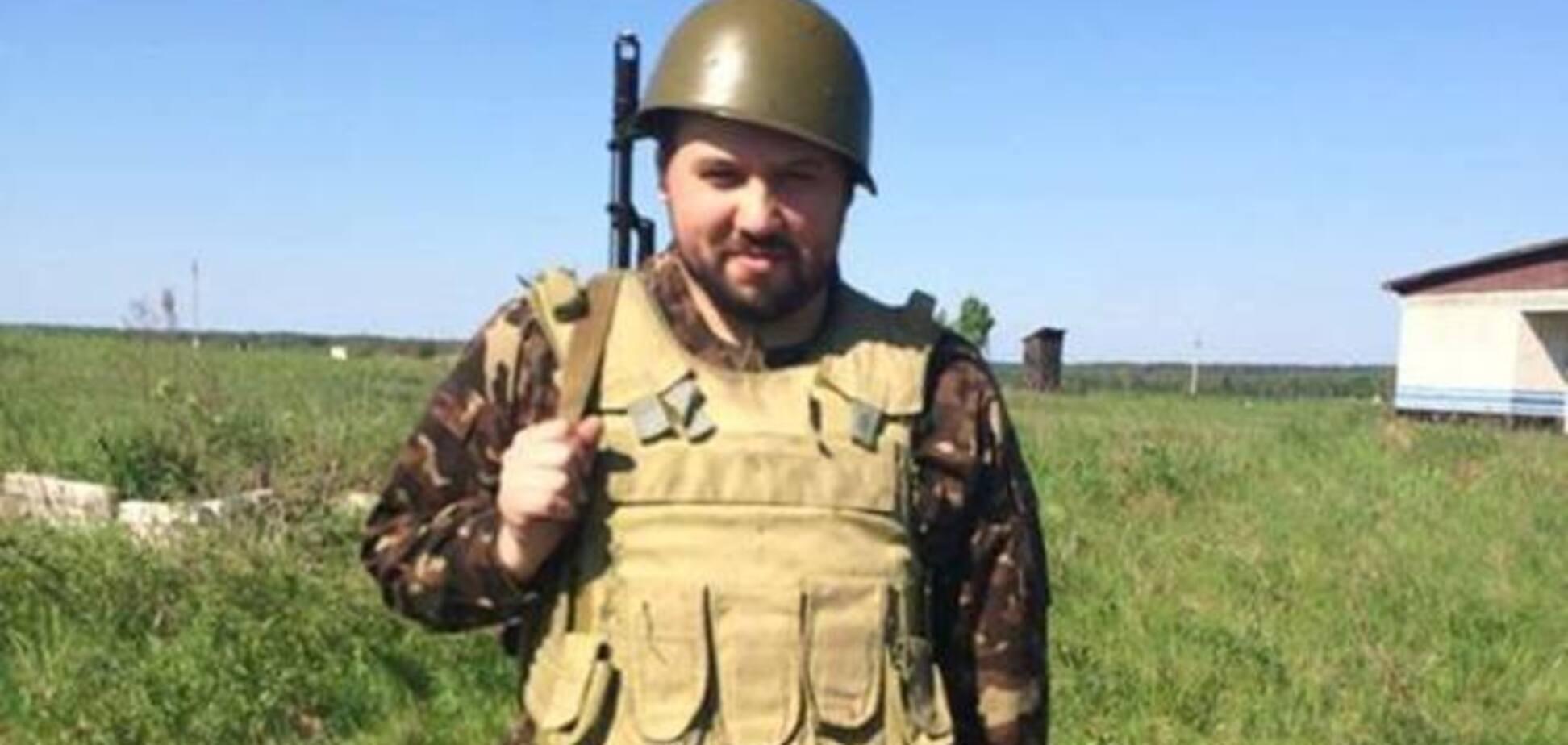 Син Гриценко вступив в армію і у зону проведення АТО