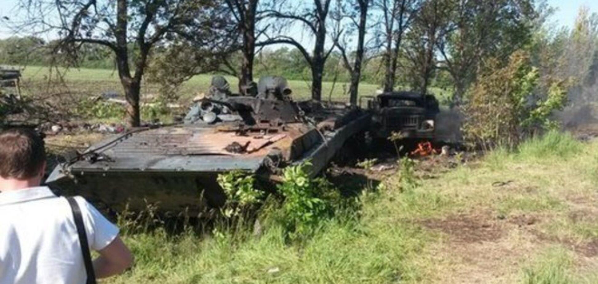 Военнослужащие расстрелянной под Волновахой бригады вернулись в зону АТО
