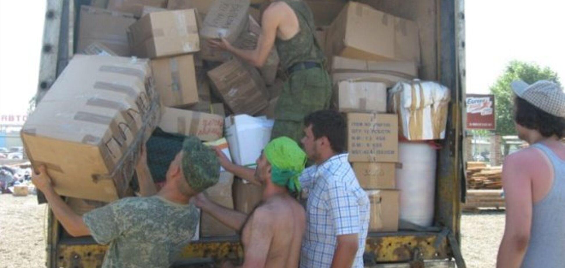 У Криму розікрали гуманітарну допомогу з Росії