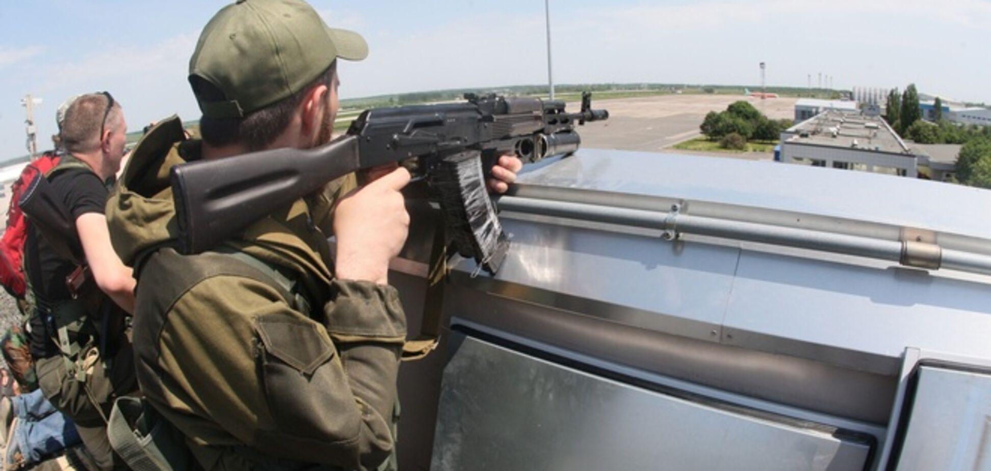Нацгвардия опровергла информацию о блокировании своих бойцов в луганском аэропорту