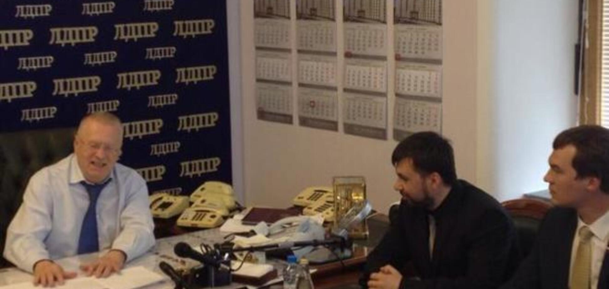 'Поймайте меня, если сможете': разыскиваемый террорист 'ДНР' Пушилин уже в Москве. Фотофакт