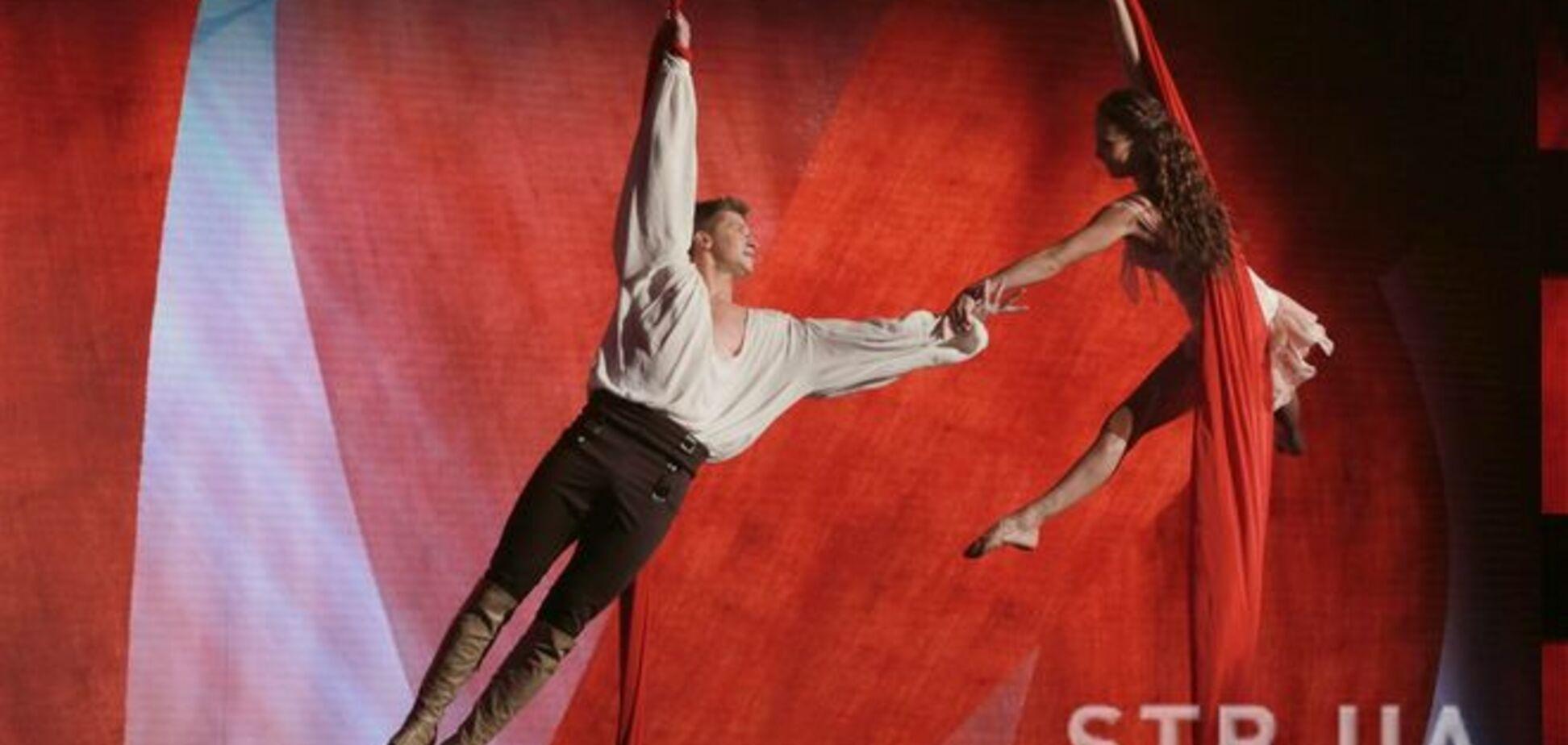 Семью акробатов Дудник признали самыми талантливыми украинцами