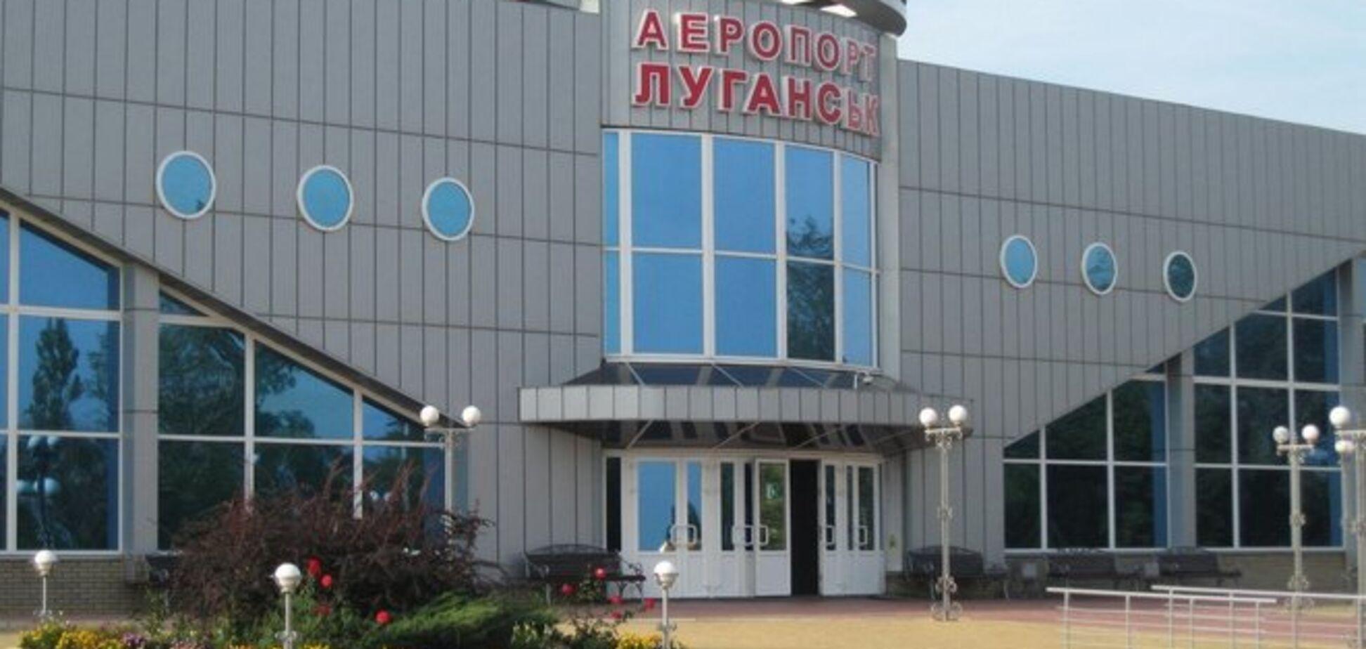 Террористы выпустили по аэропорту 'Луганск' 12 мин
