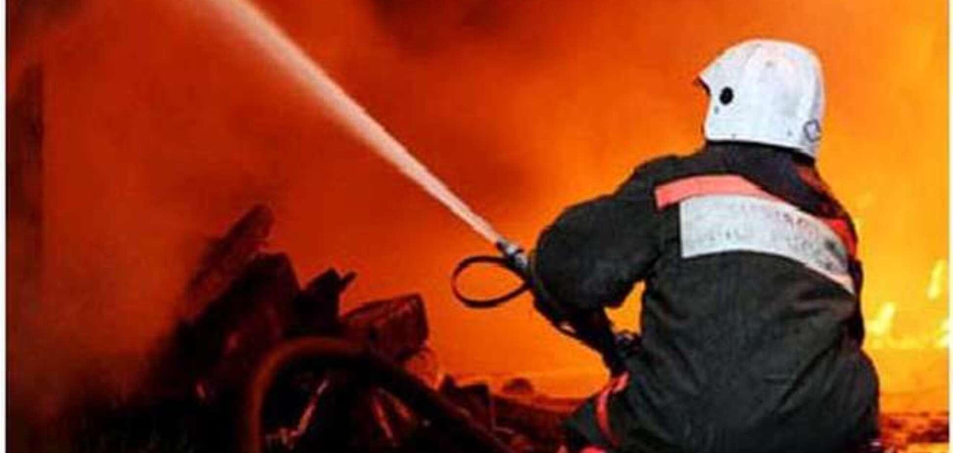 Масштабный пожар в Горловке: ночью горела исправительная колония