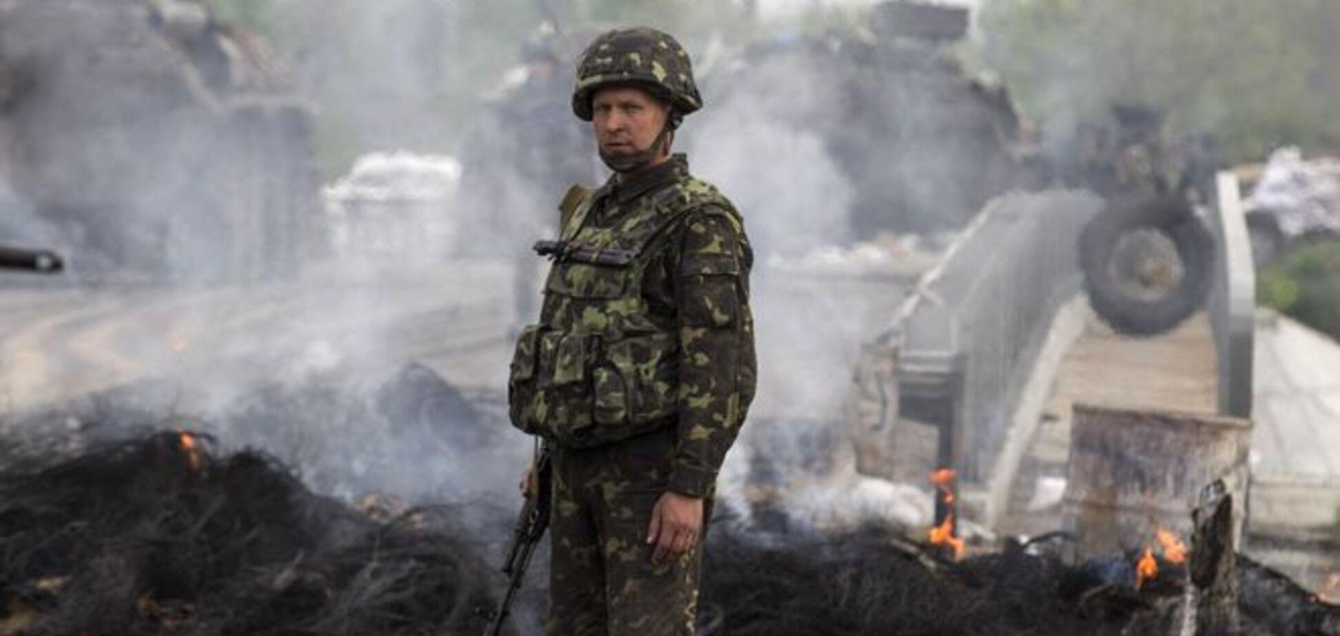 Украинские добровольцы сегодня намерены пикетировать штаб АТО