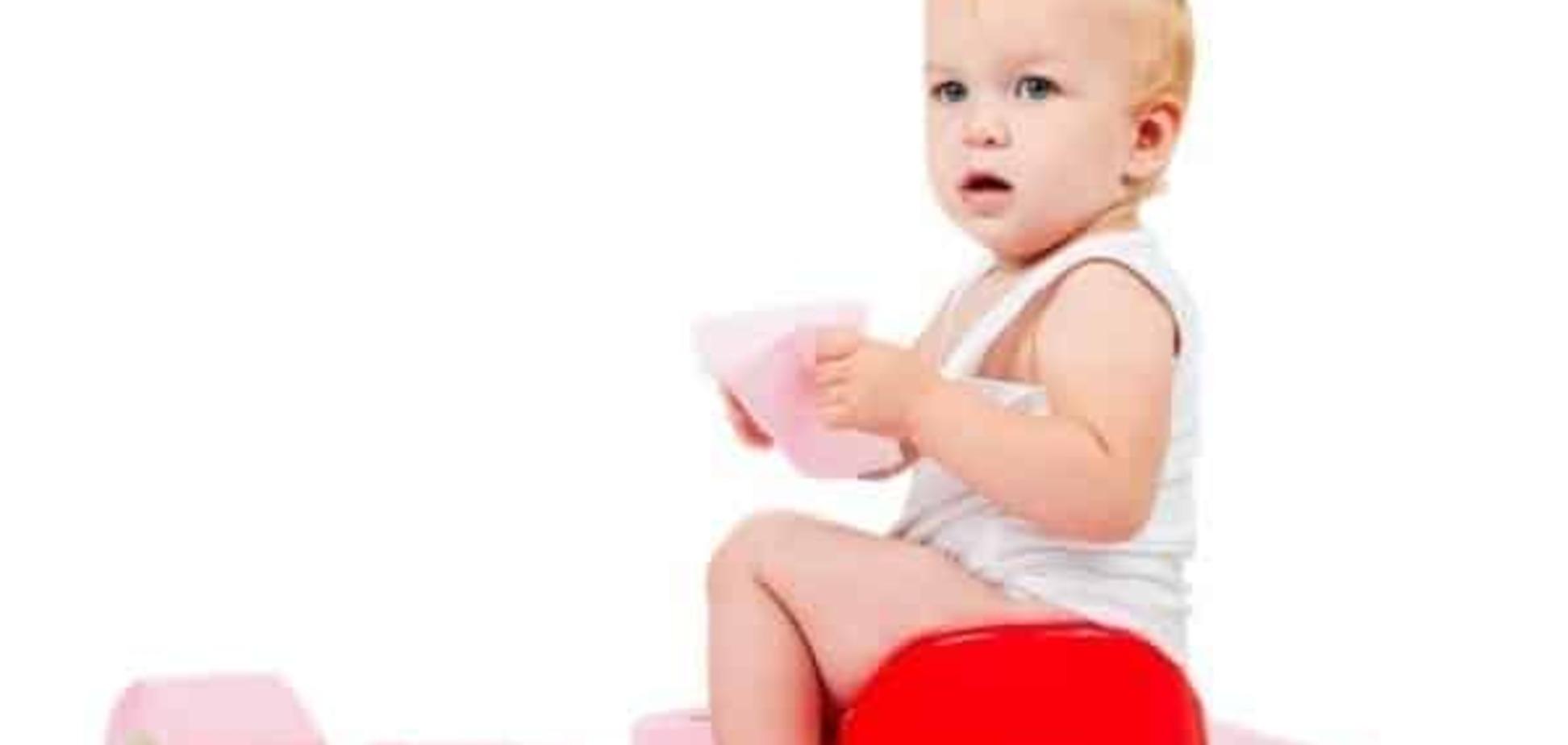 Дитина боїться какати чи психологічний запор у дитини