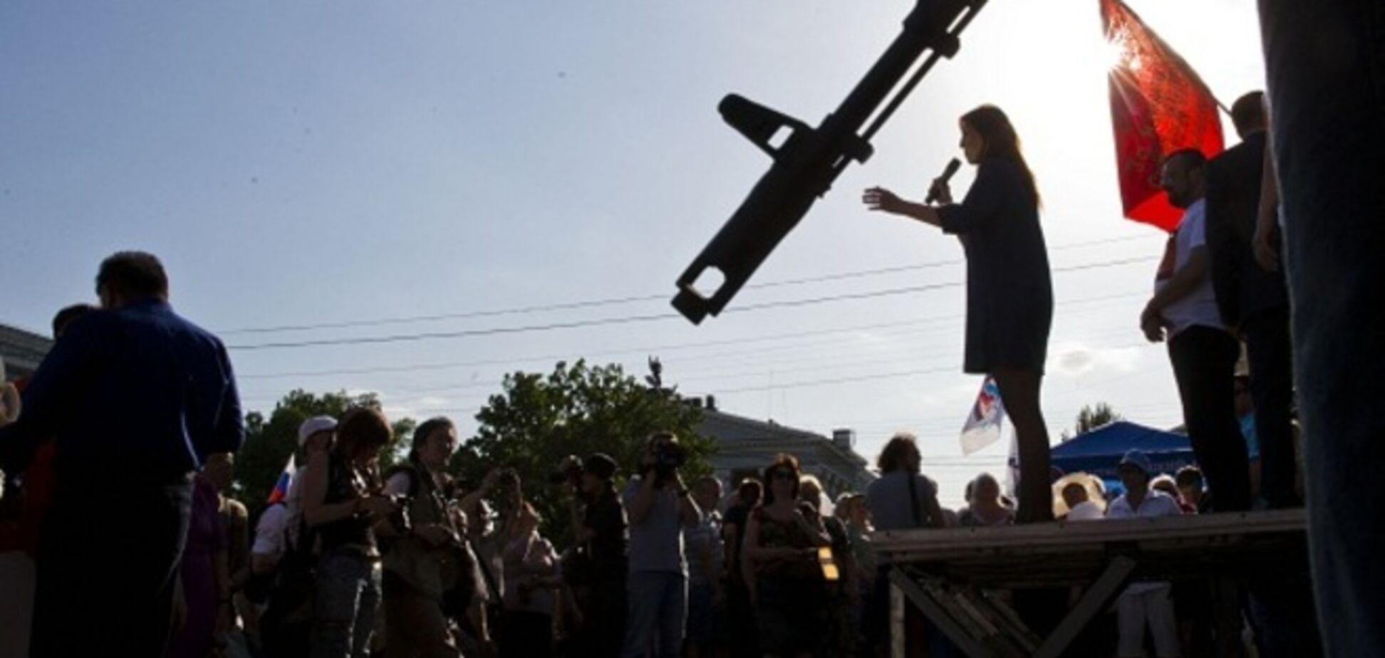 Лисичанские террористы прогнали луганских - СМИ