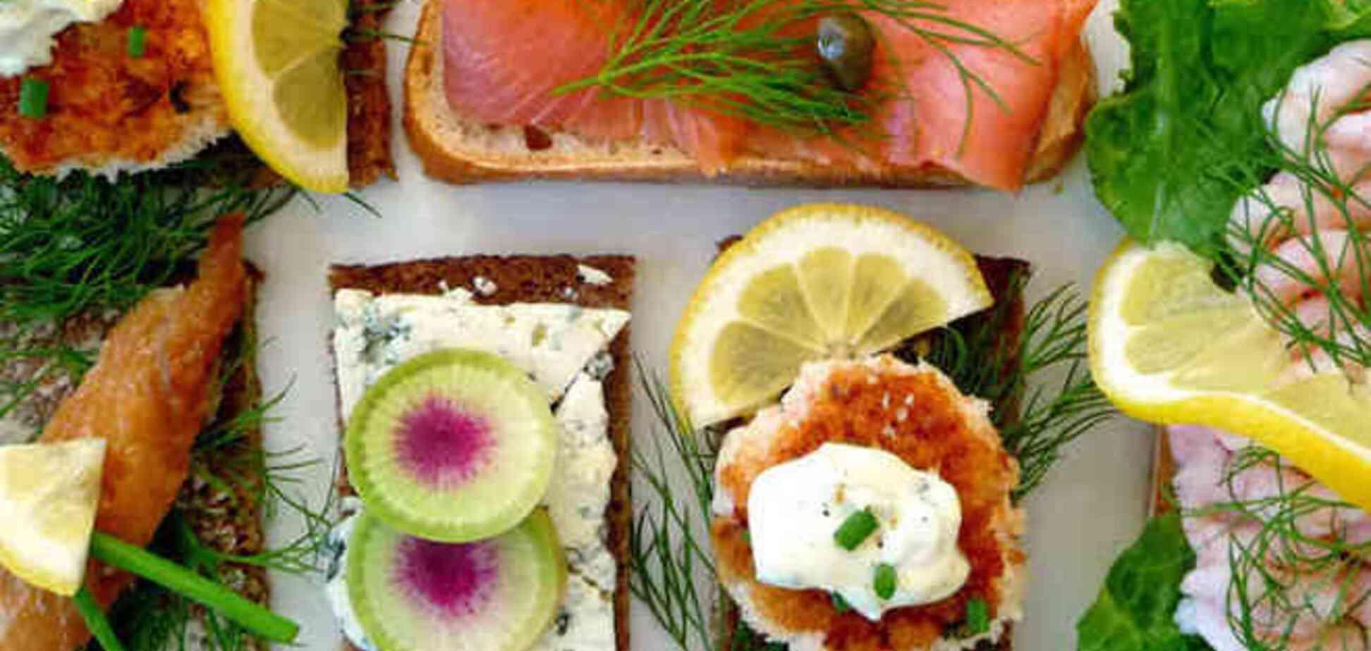Датский смерребред – король бутербродов. Топ-3 рецепта