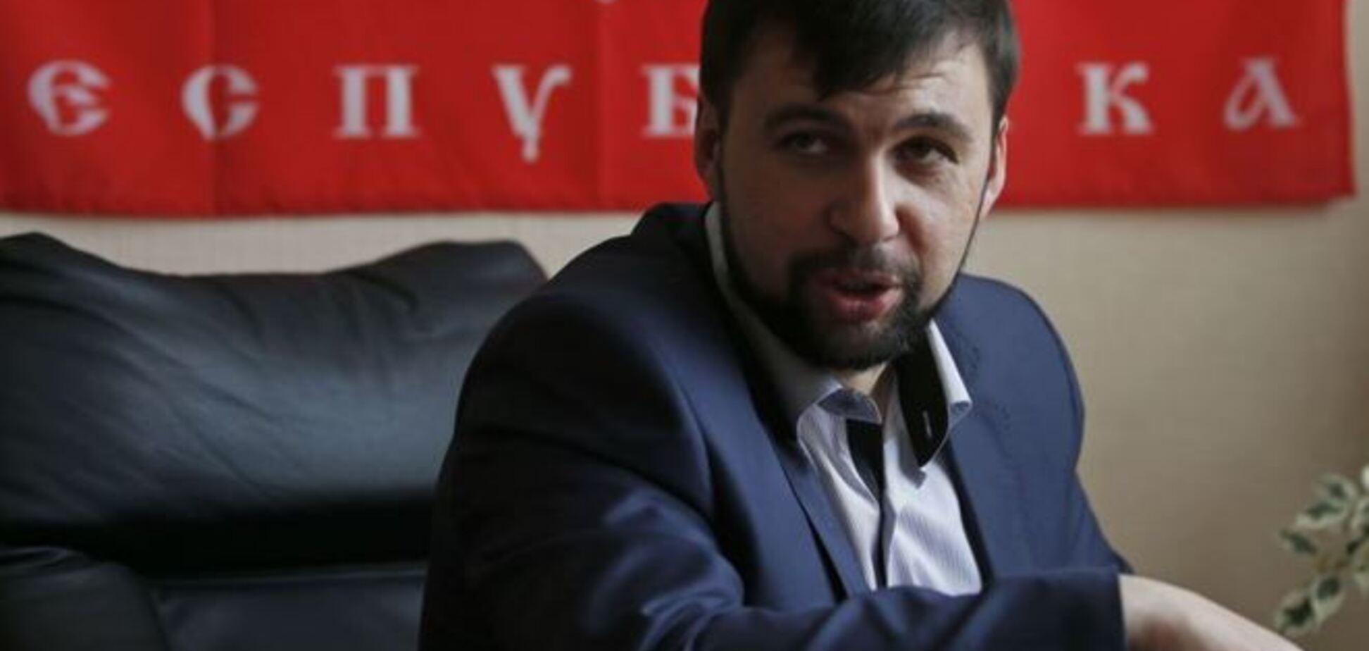 Фейковый глава 'ДНР' сознался, что действует по указанию наставников из России