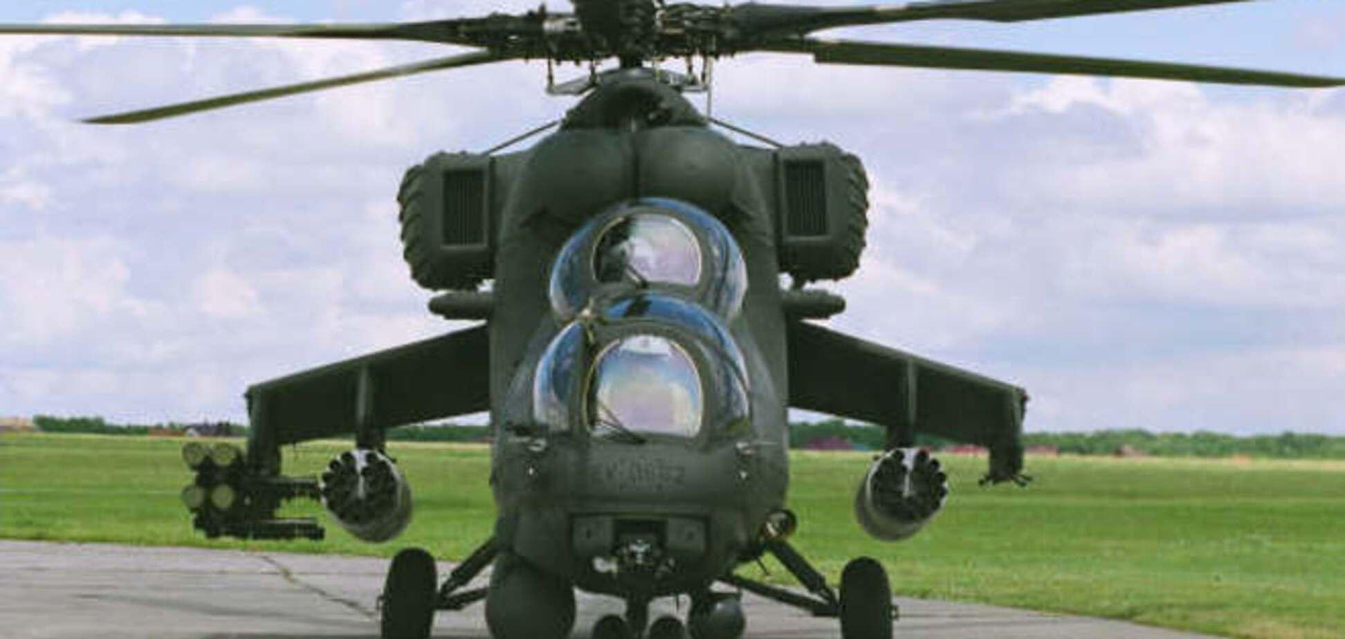Вертолет ВВС России незаконно пересек украинскую границу - АТО
