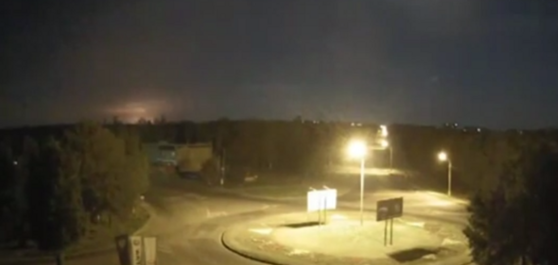 З'явилося відео падіння збитого терористами літака Іл-76