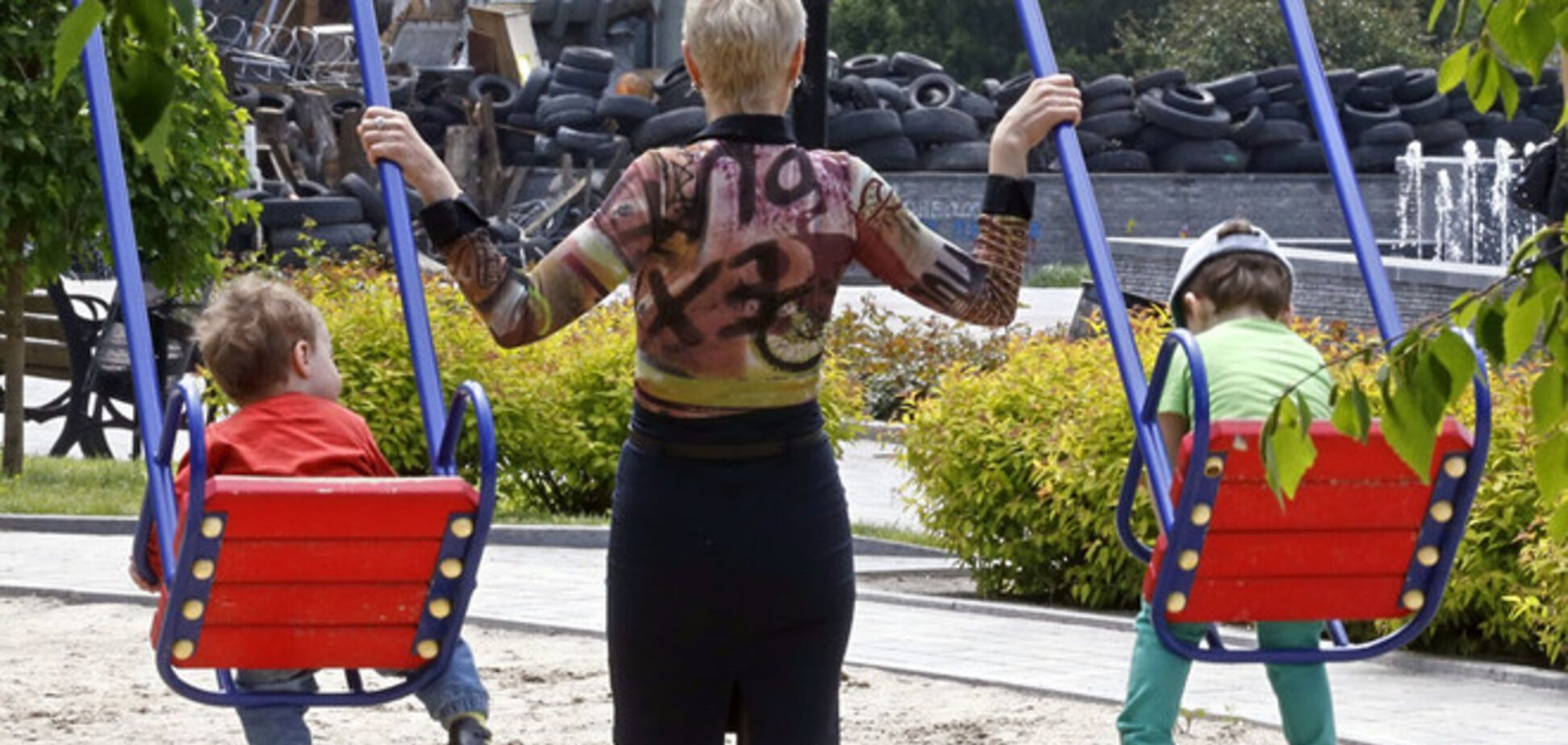 Похищенные дети из Славянска уже в Днепропетровске