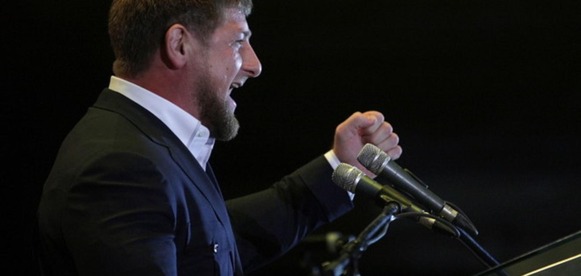 Путінська маріонетка Аксьонов дав Кадирову медаль 'За захист Криму'