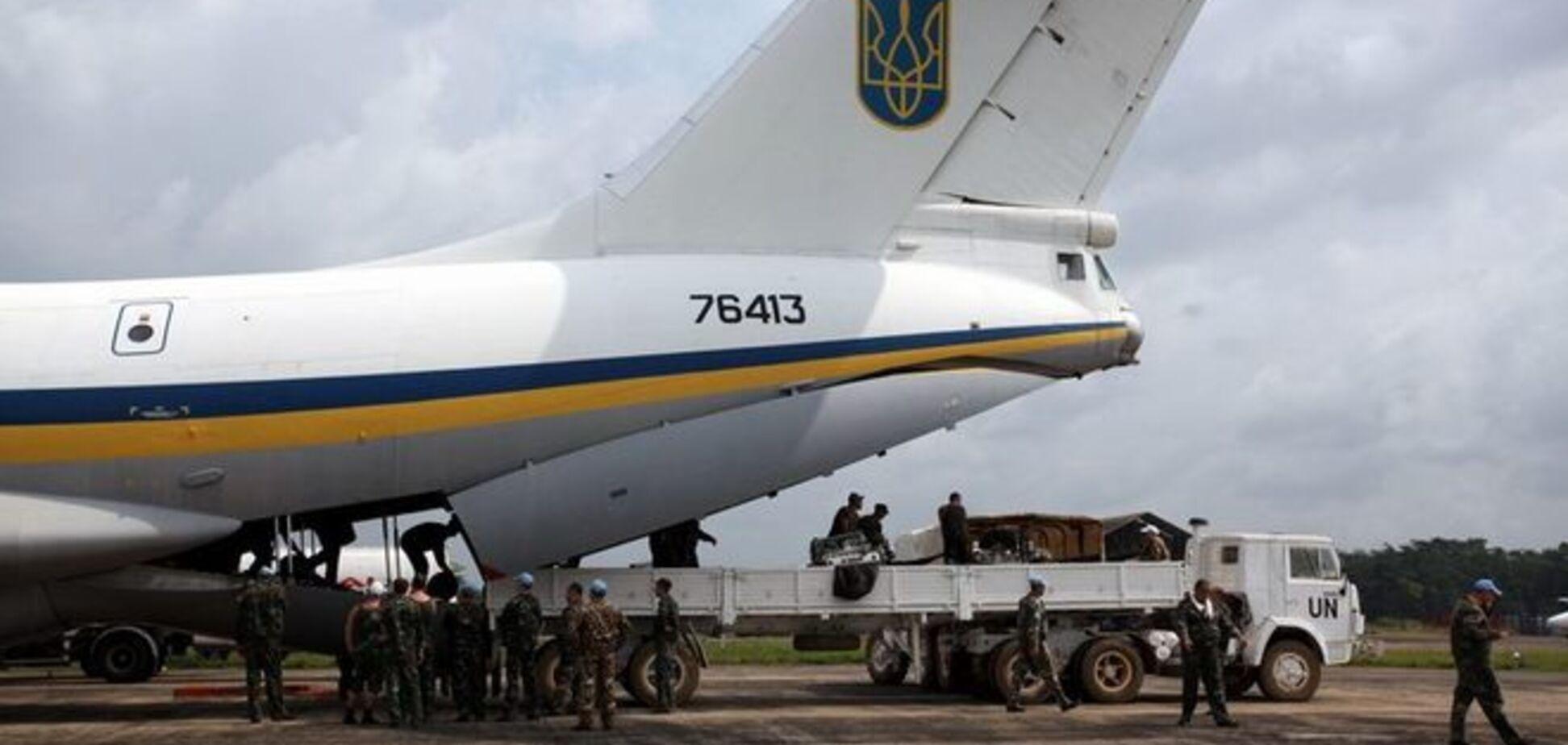 В Луганске террористы сбили Ил-76 с десантниками