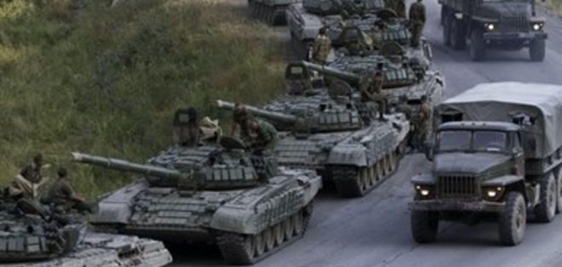 Из России в сторону границы с Украиной движутся колонны военной техники - СМИ