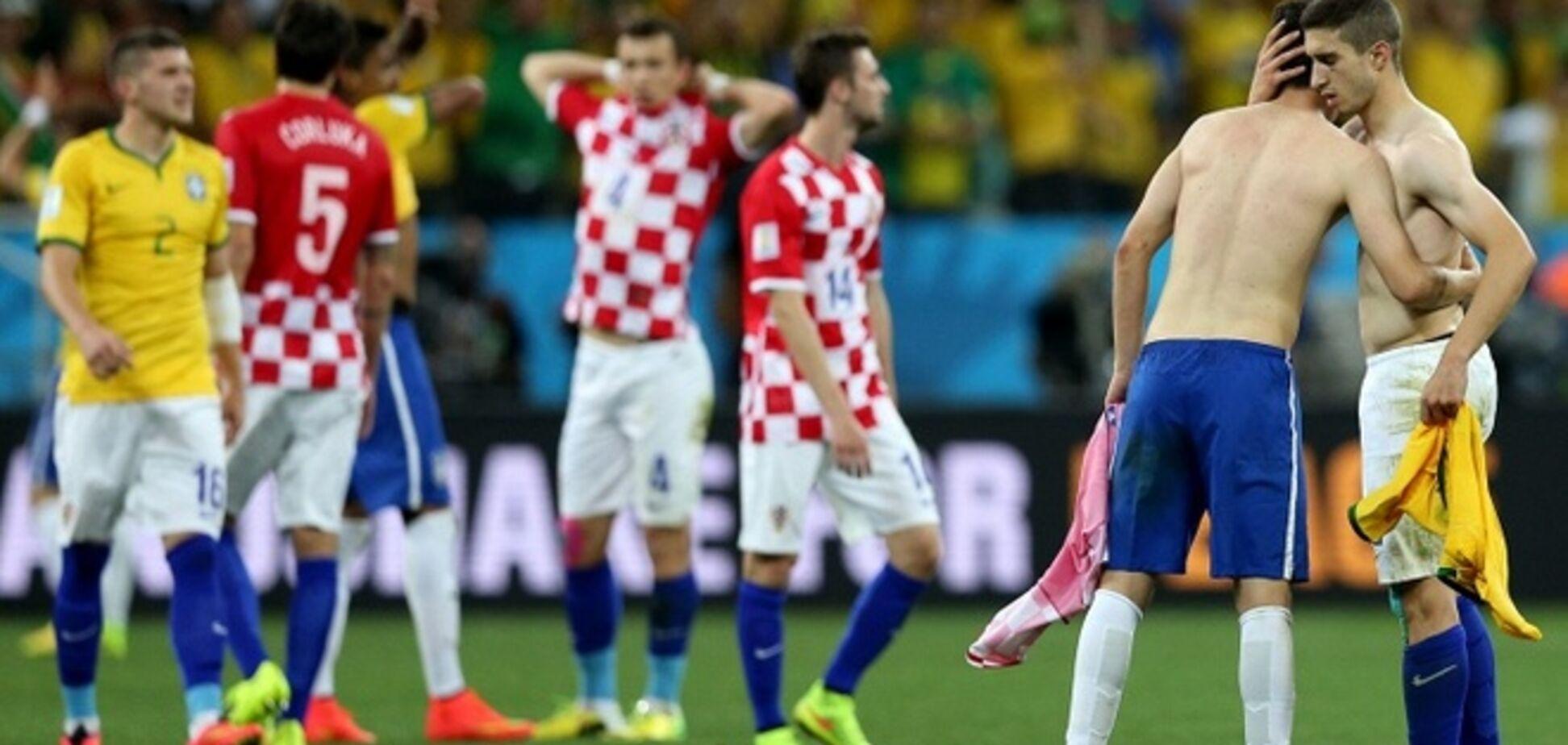 ЧМ-2014. Сборная Хорватии объявила бойкот СМИ после публикации их голых фотографий