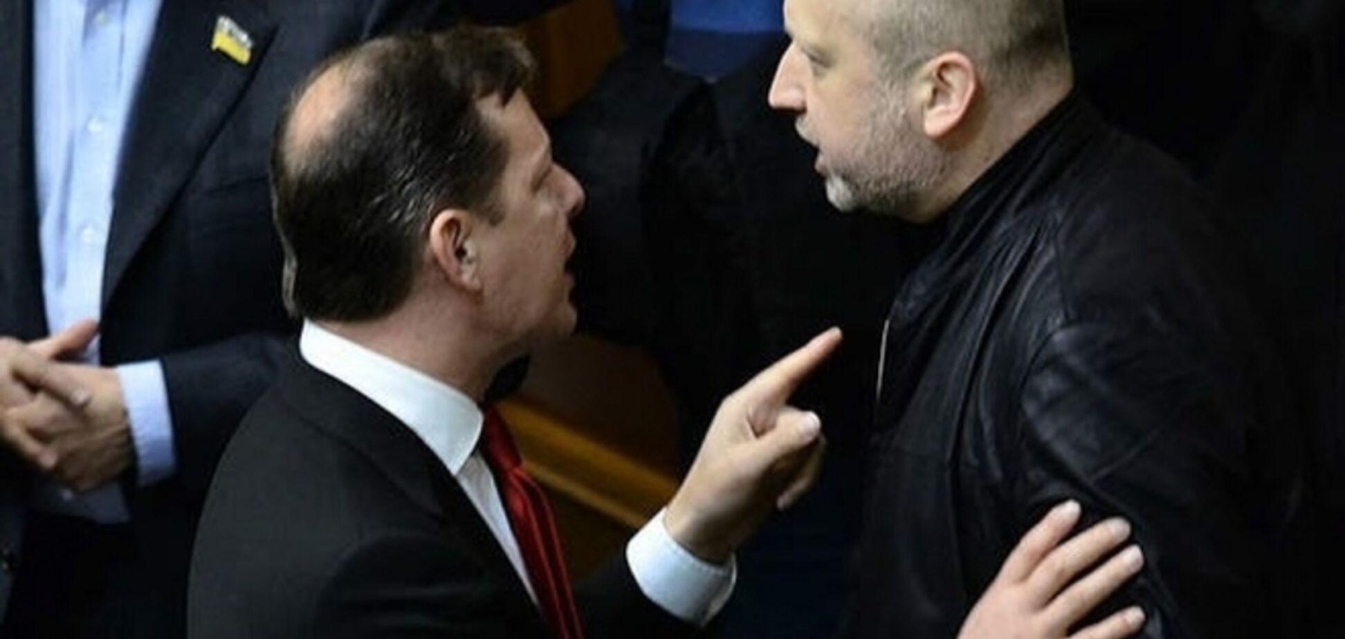 Турчинов поручил СБУ разобраться, летали ли Ефремов и Ляшко в Москву и для чего