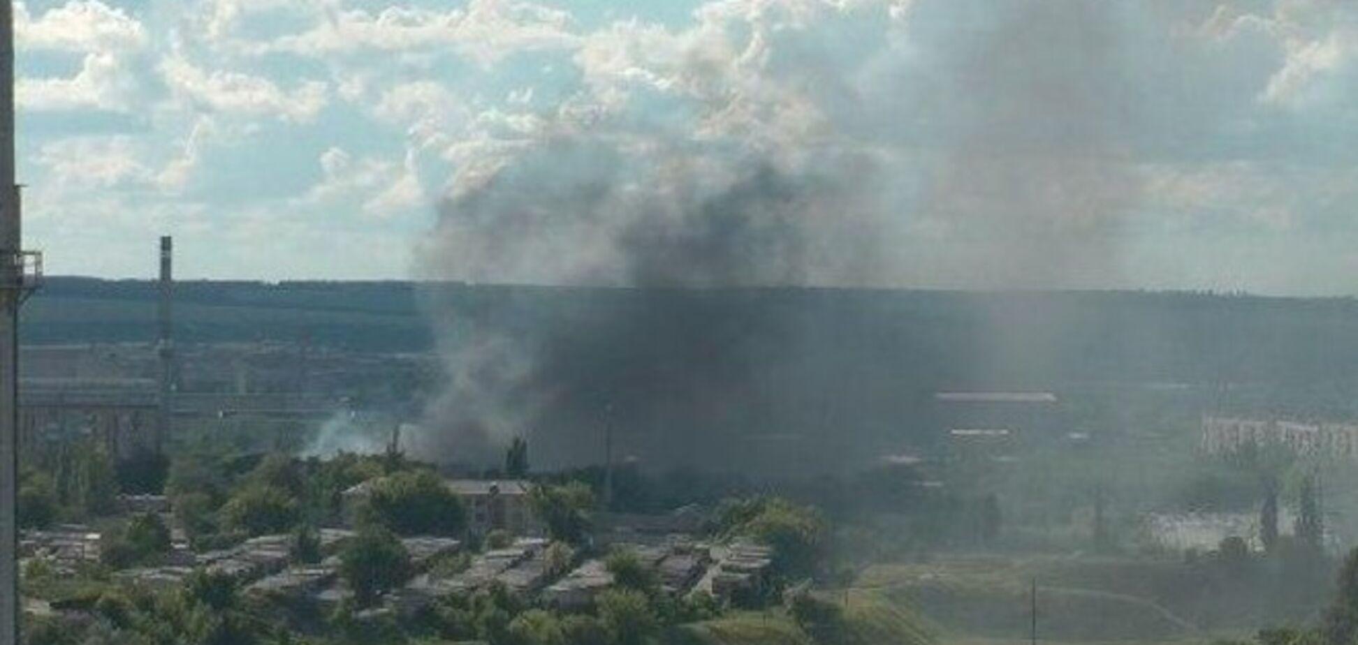 В Славянске и Краматорске слышны сильные взрывы, бои идут в нескольких точках