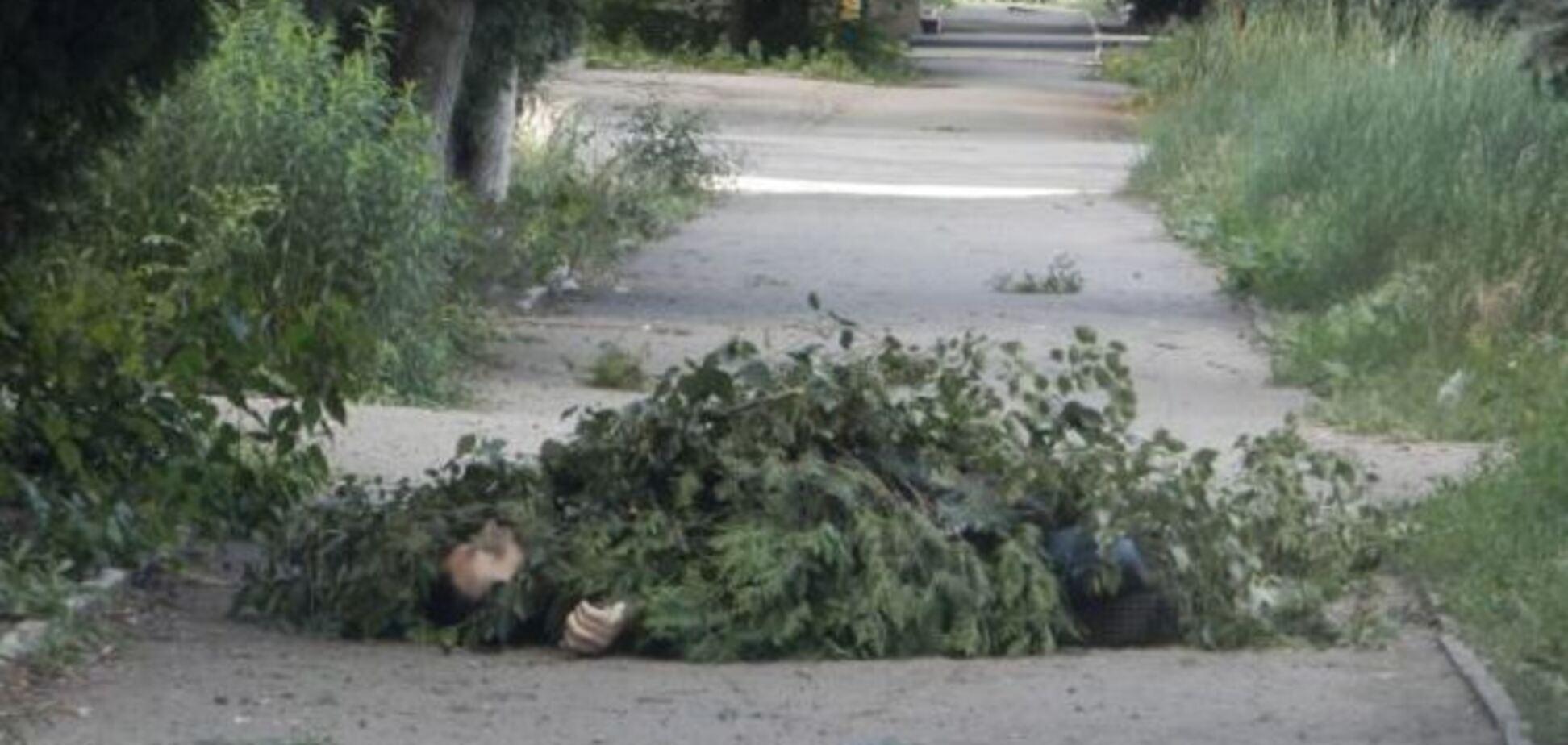Обстріл Краматорська: трупи на вулицях довелося вкривати гілками