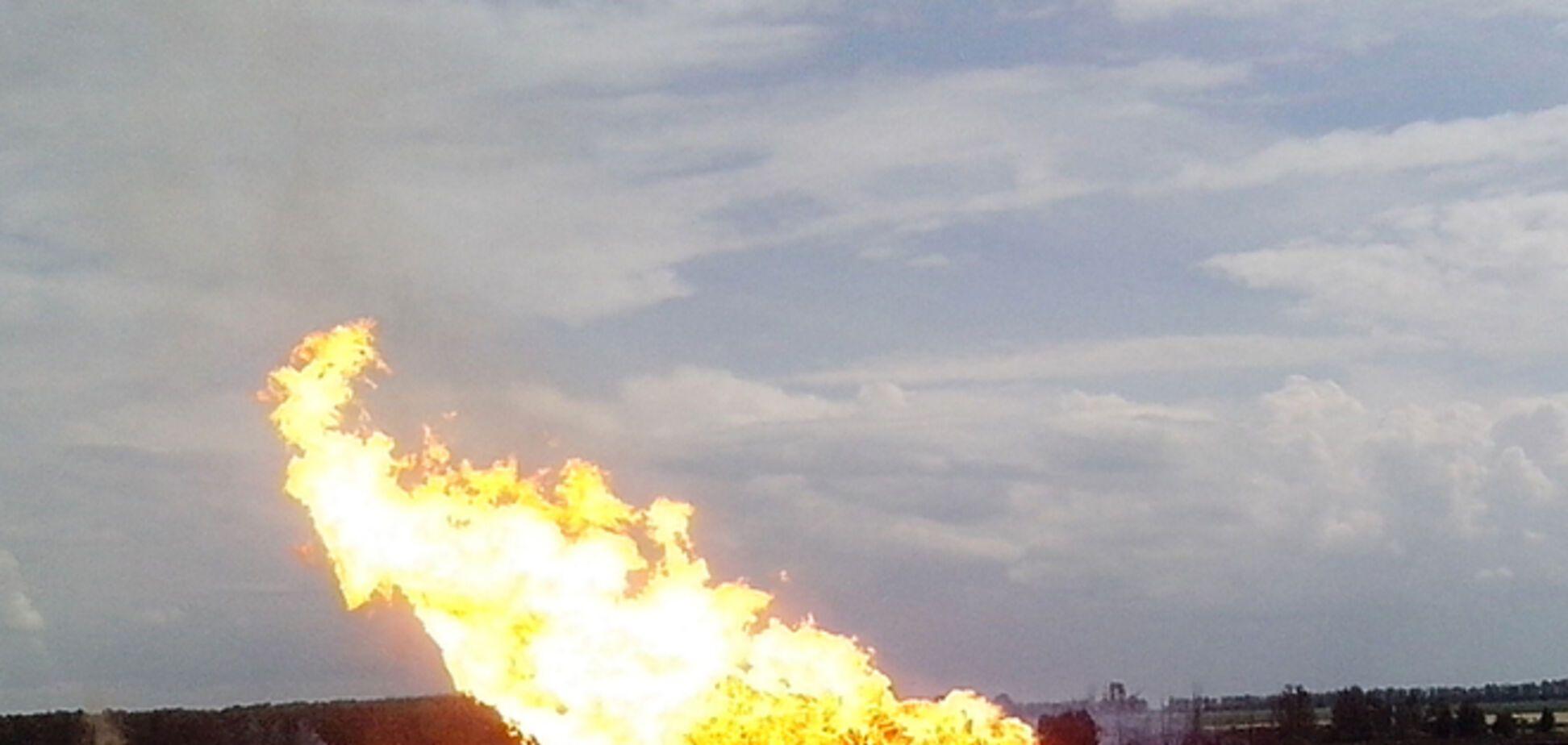 Аваков: главная версия взрыва на газопроводе в Полтавской области – теракт
