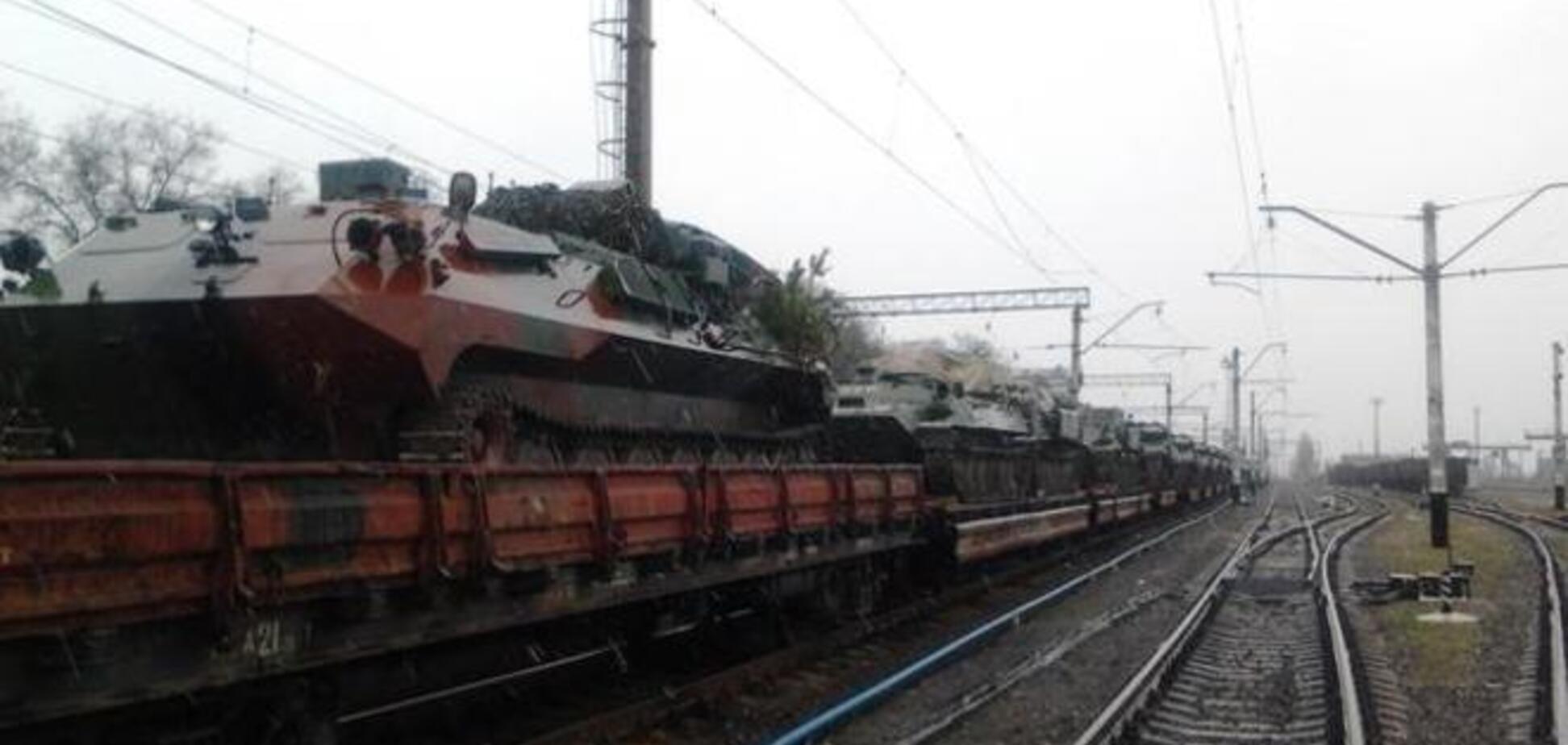 До кордону України підійшли колони російської бронетехніки. Це психологічний тиск - Семенченко