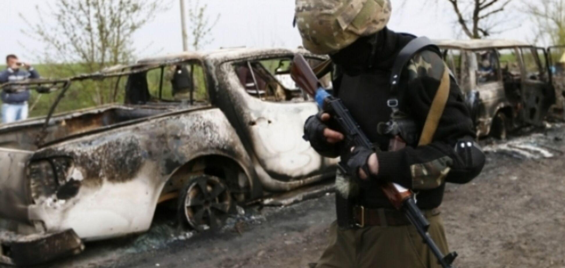 Террористы в зоне АТО попросили о перемирии: хотят вывезти трупы