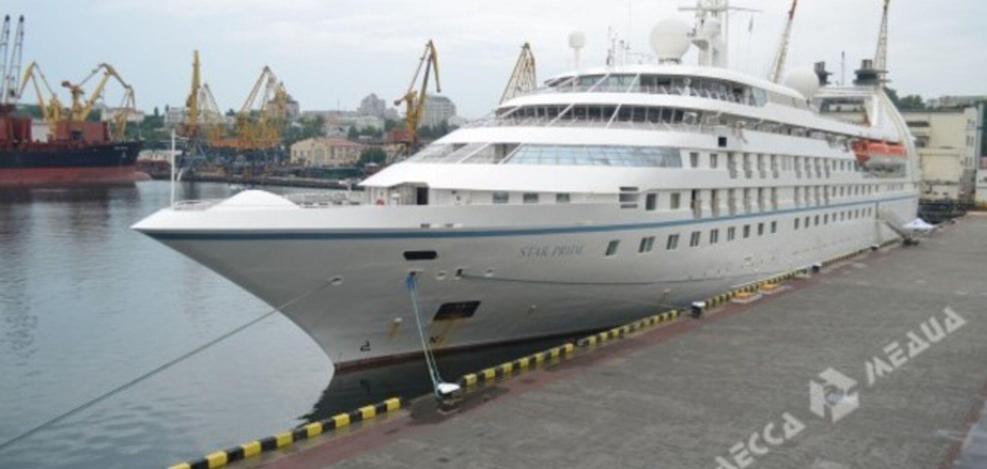 В порт Одессы зашел первый круизный лайнер