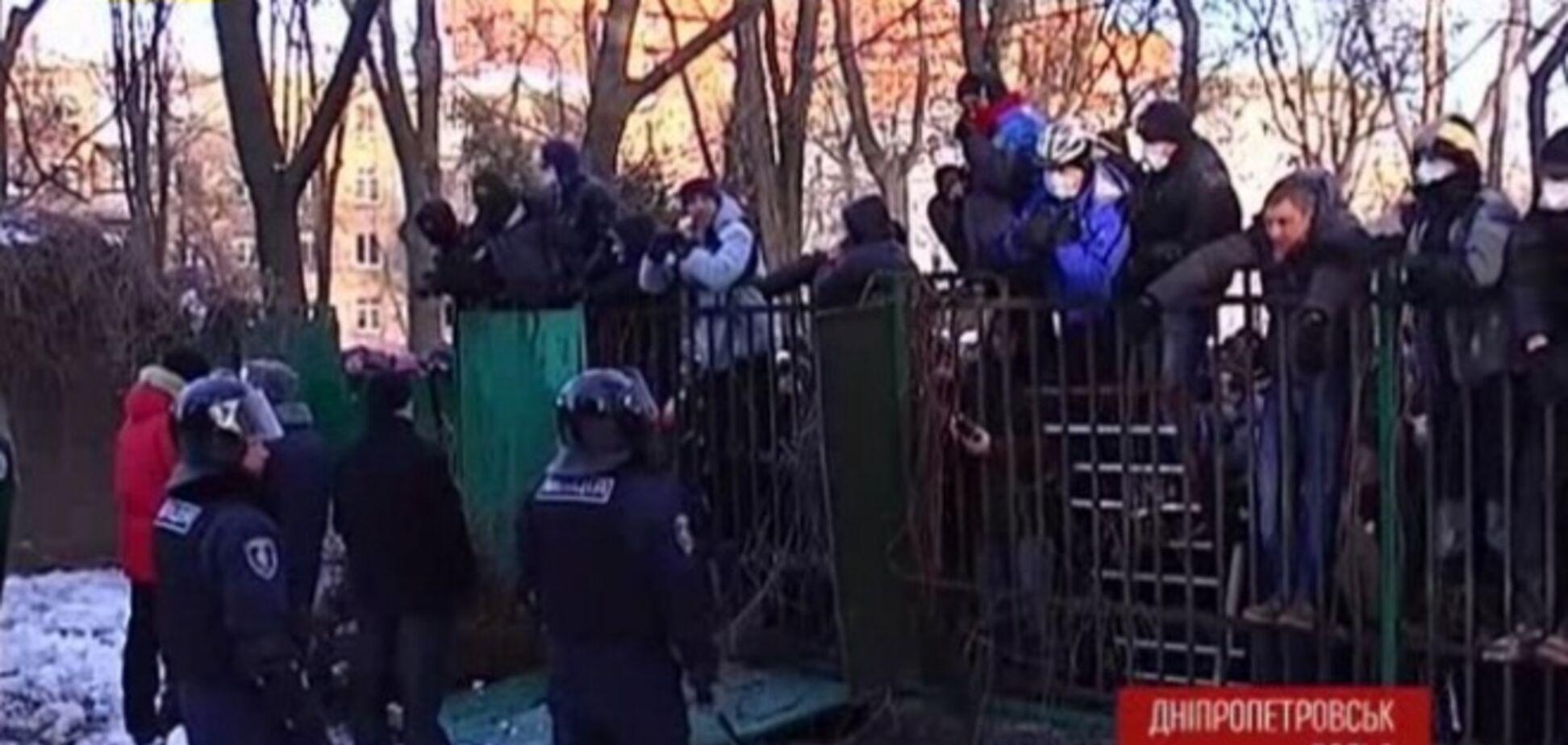 В Днепропетровске из 300 титушек, избивавших майдановцев, идентифицировали только 5