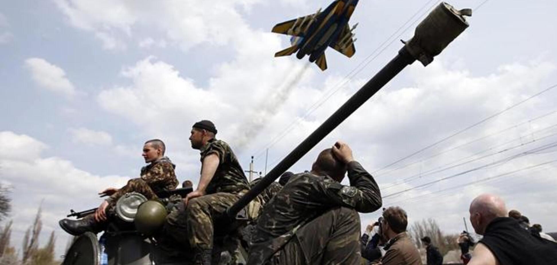 Силы АТО уничтожили около 200 террористов в ходе боев в районе Ямполя и Закотного