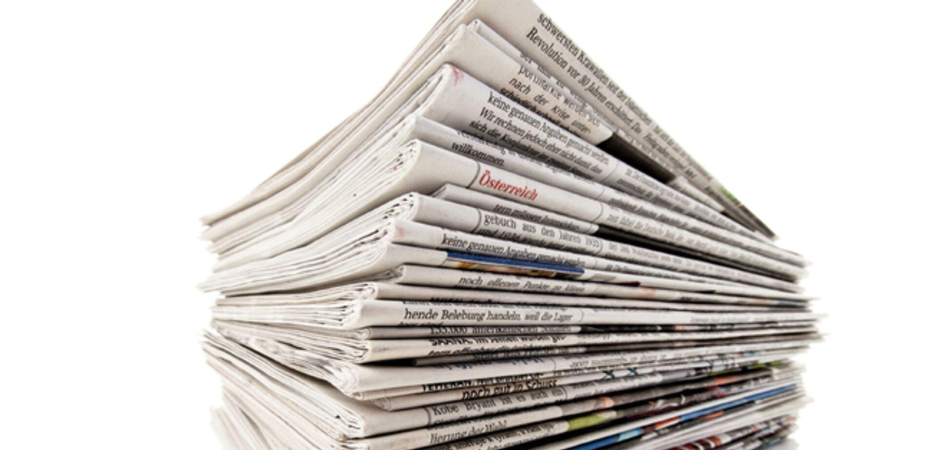 В Киеве участились случаи распространения сепаратистской прессы