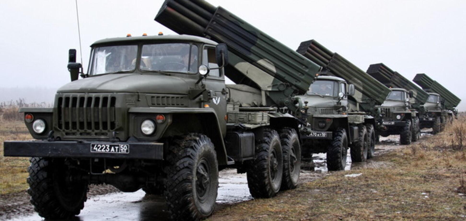 Тымчук: в Украину вошли не менее трех 'Градов'