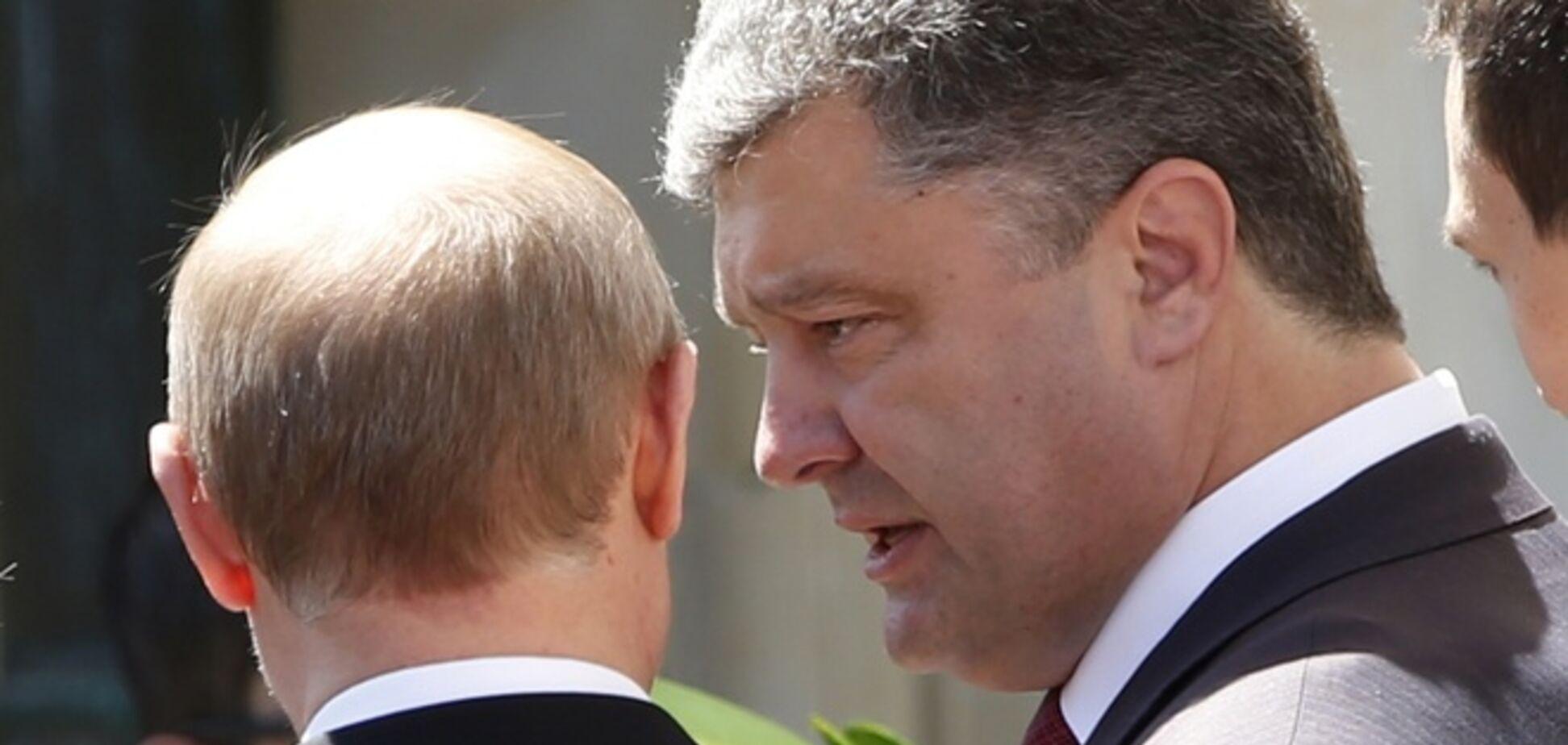 Путин поддержал мирный план Порошенко