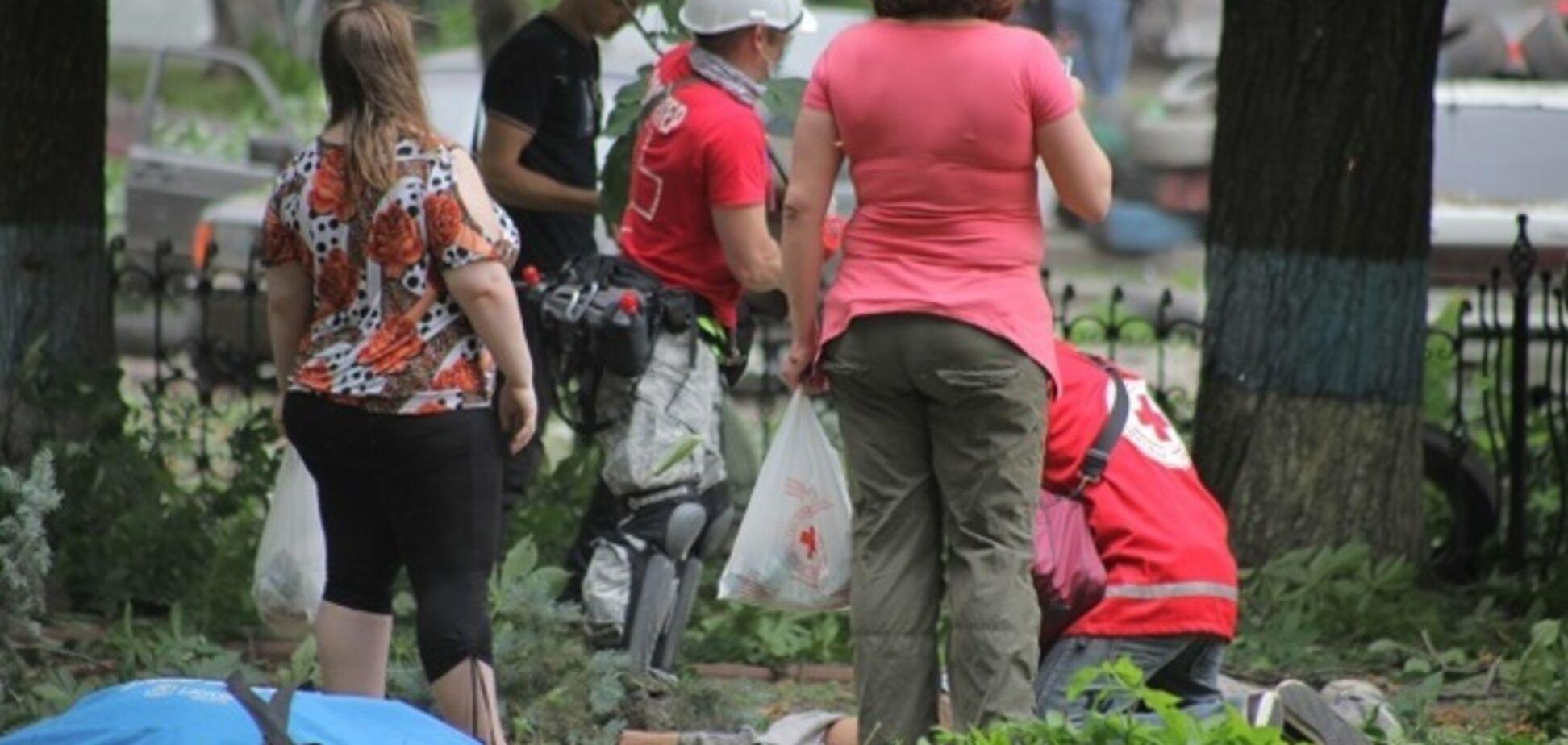 СМИ: взрыв в Луганской ОГА унес жизни семи человек