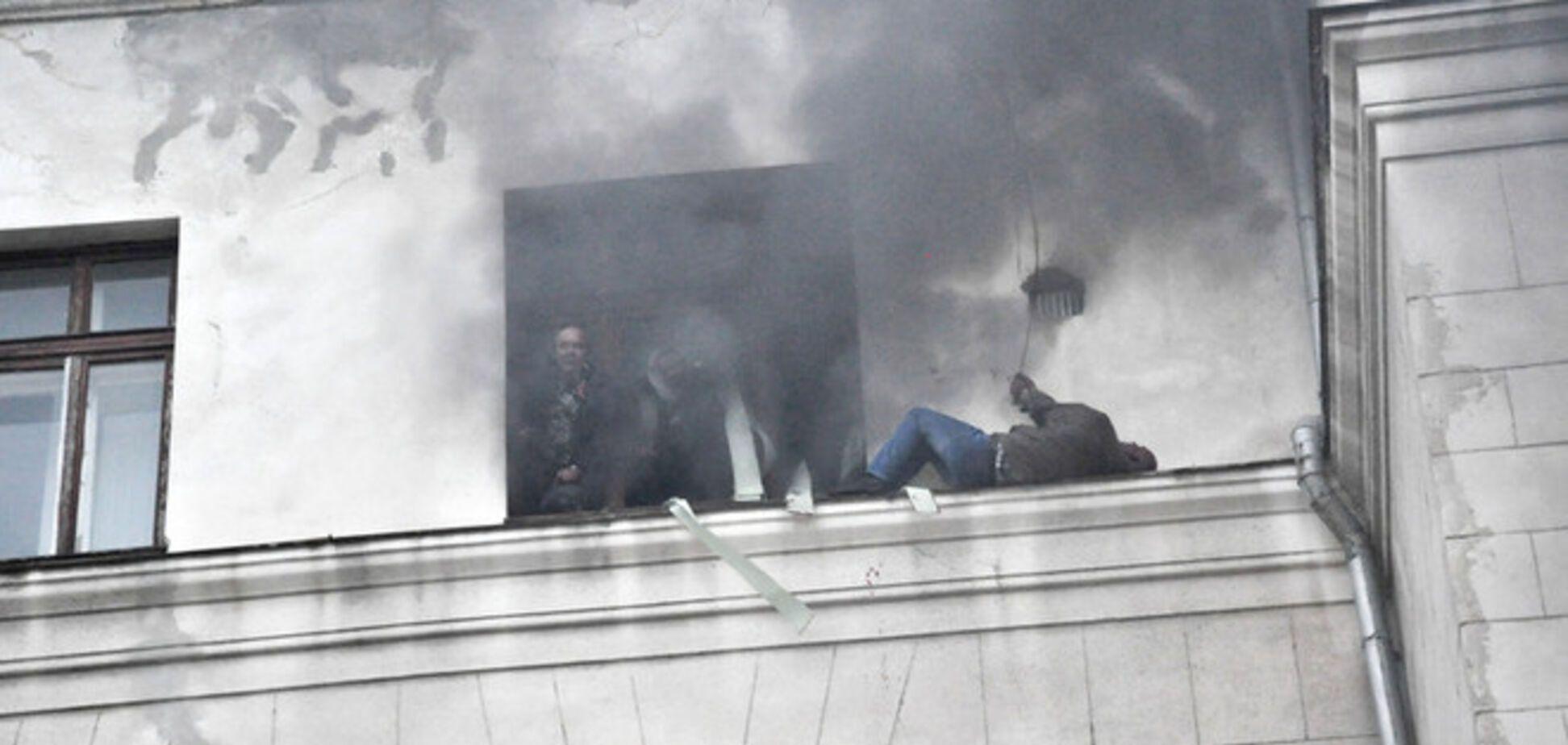 Милиция подозревает полсотни человек в организации беспорядков в Одессе 2 мая