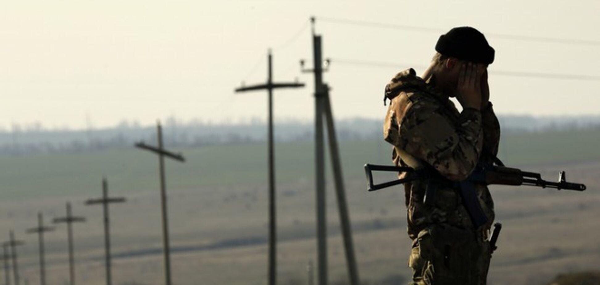 Террористы обстреляли пункт пропуска 'Изварино': ранены шесть пограничников
