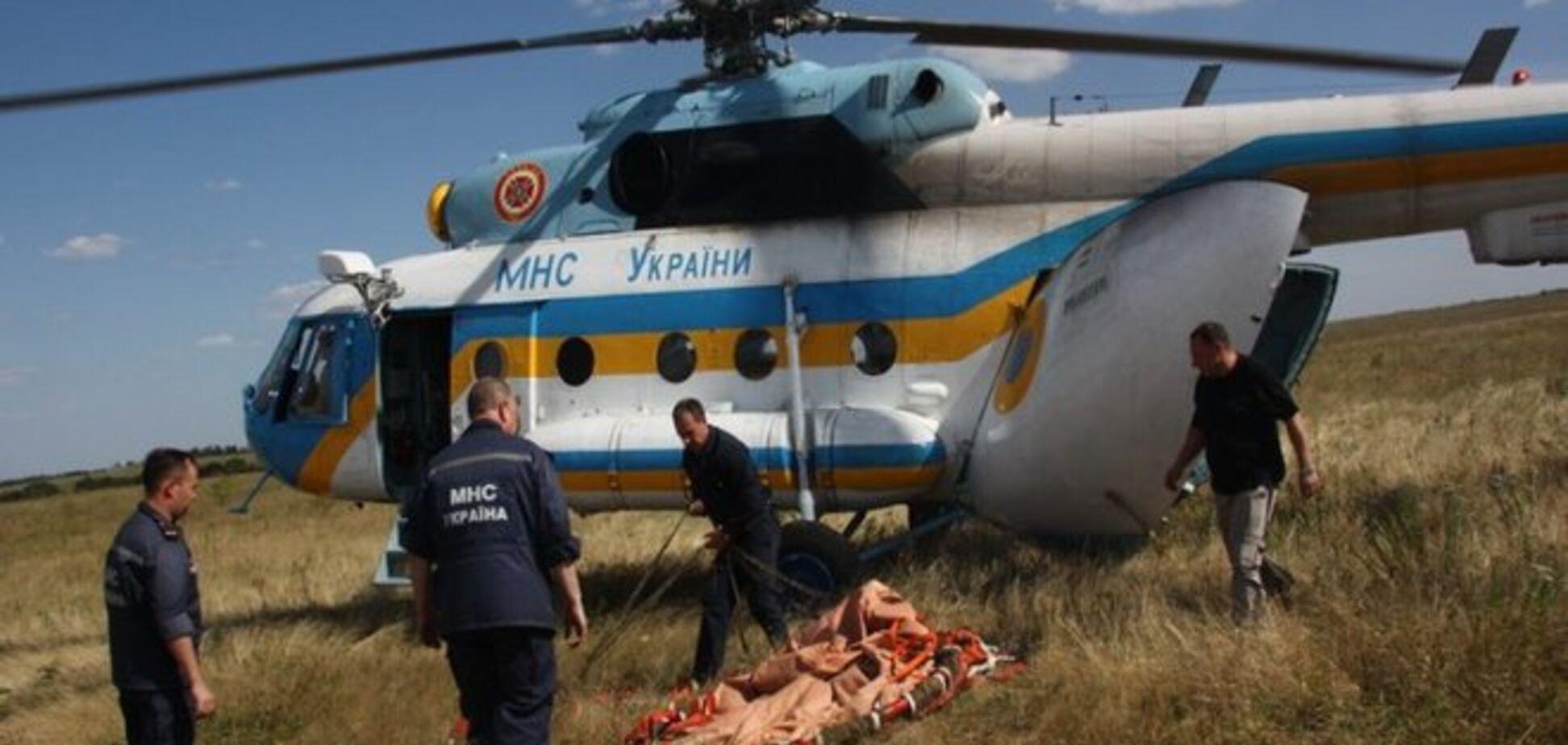 МВД подтвердило гибель экипажа рухнувшего на Харьковщине вертолета