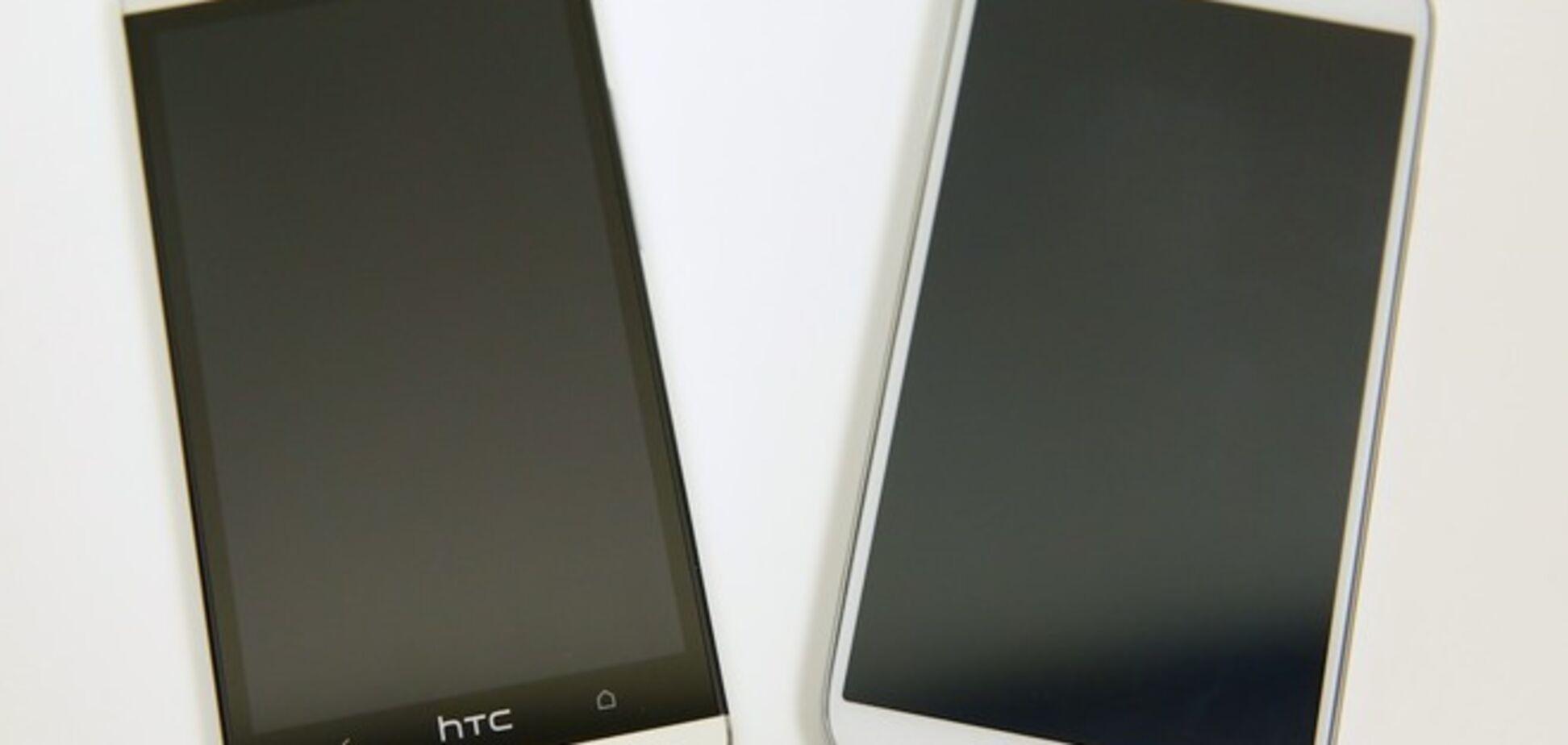 НТС потролилла дизайна телефона Samsung