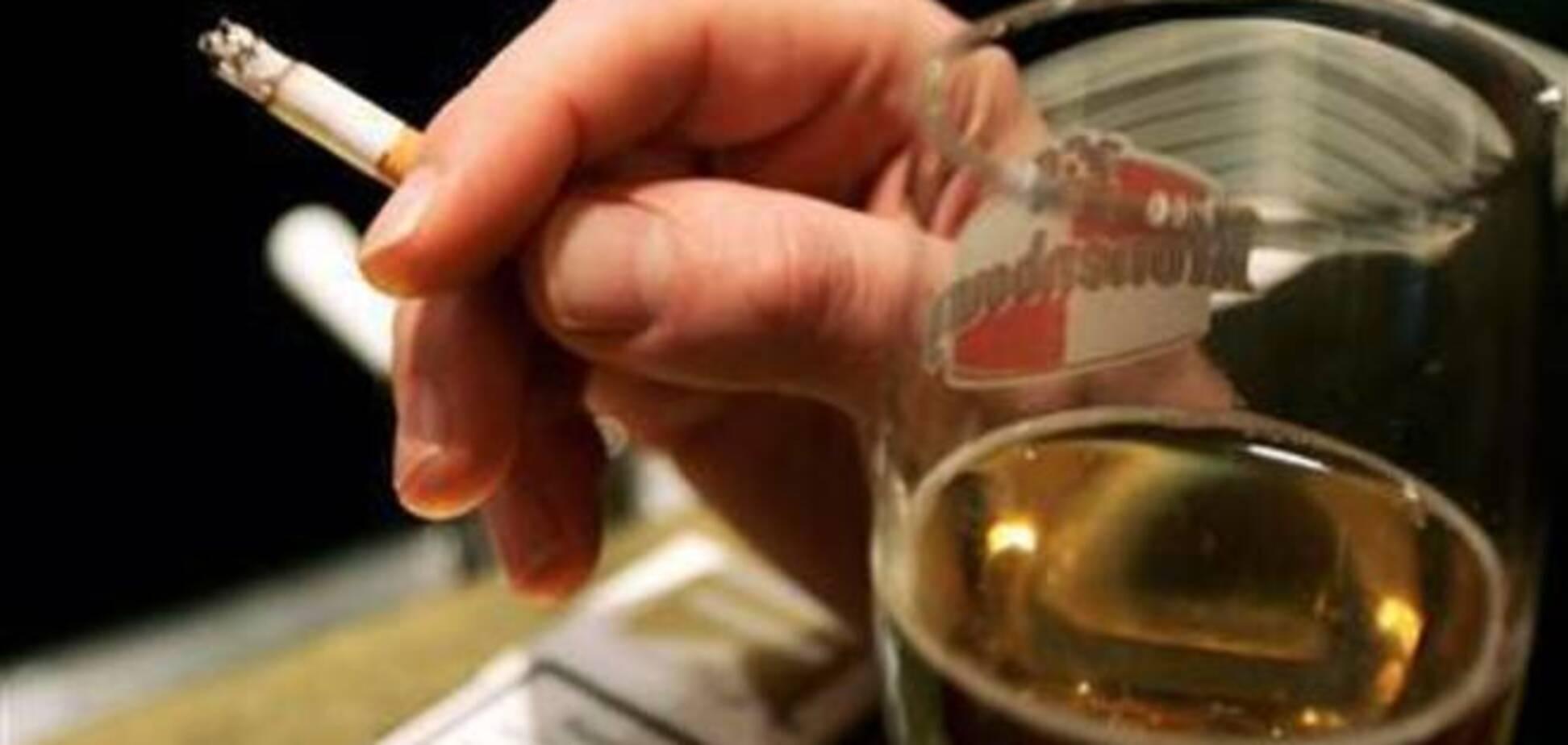 Почему алкоголь нельзя смешивать с никотином