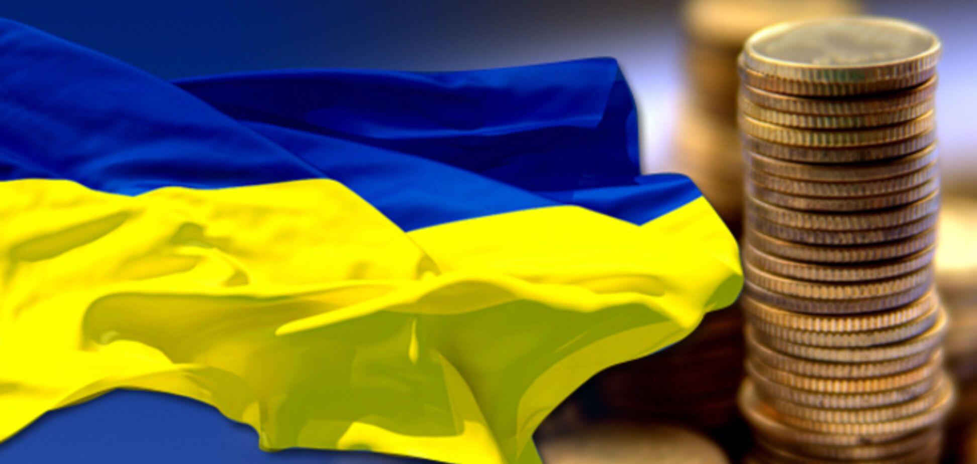 Дефицит Госбюджета Украины сократился на треть