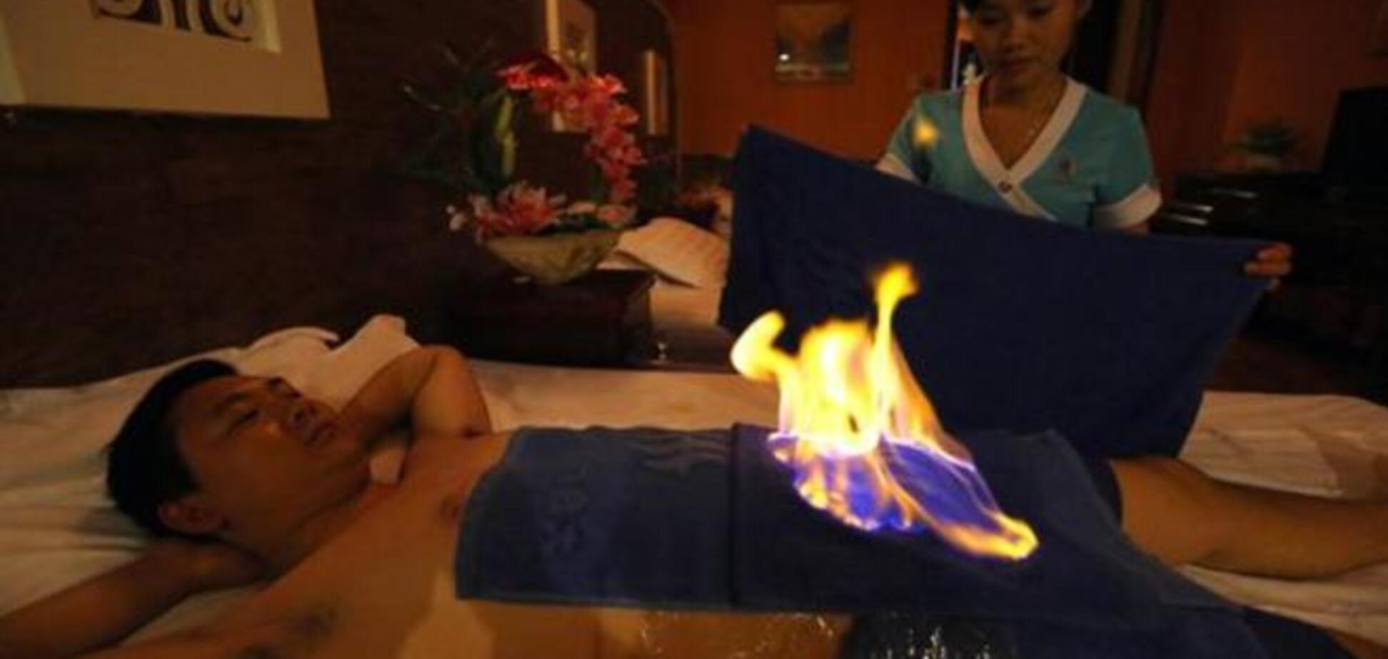 Исцеление огнём: новый супермодный вид спа-терапии