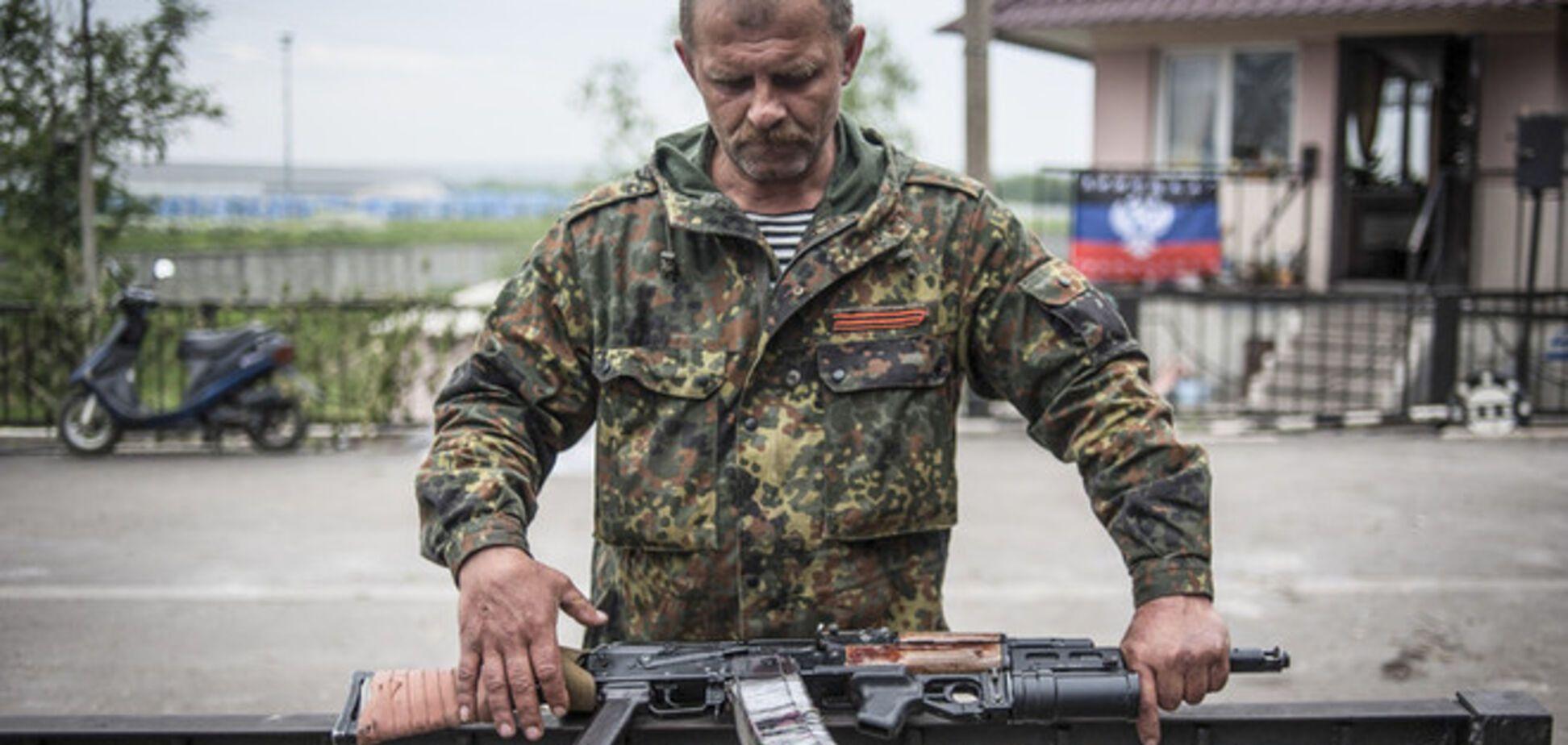 На Донетчине террористы взяли в плен солдата с полным грузовиком оружия