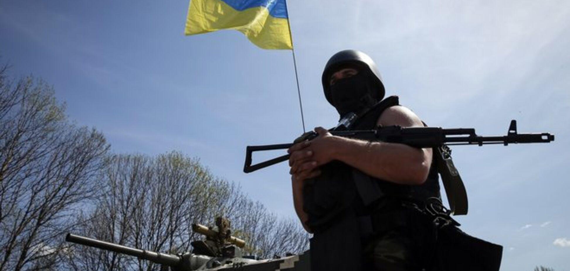 Двое силовиков погибли и 42 ранены в ходе АТО во вторник в Славянске