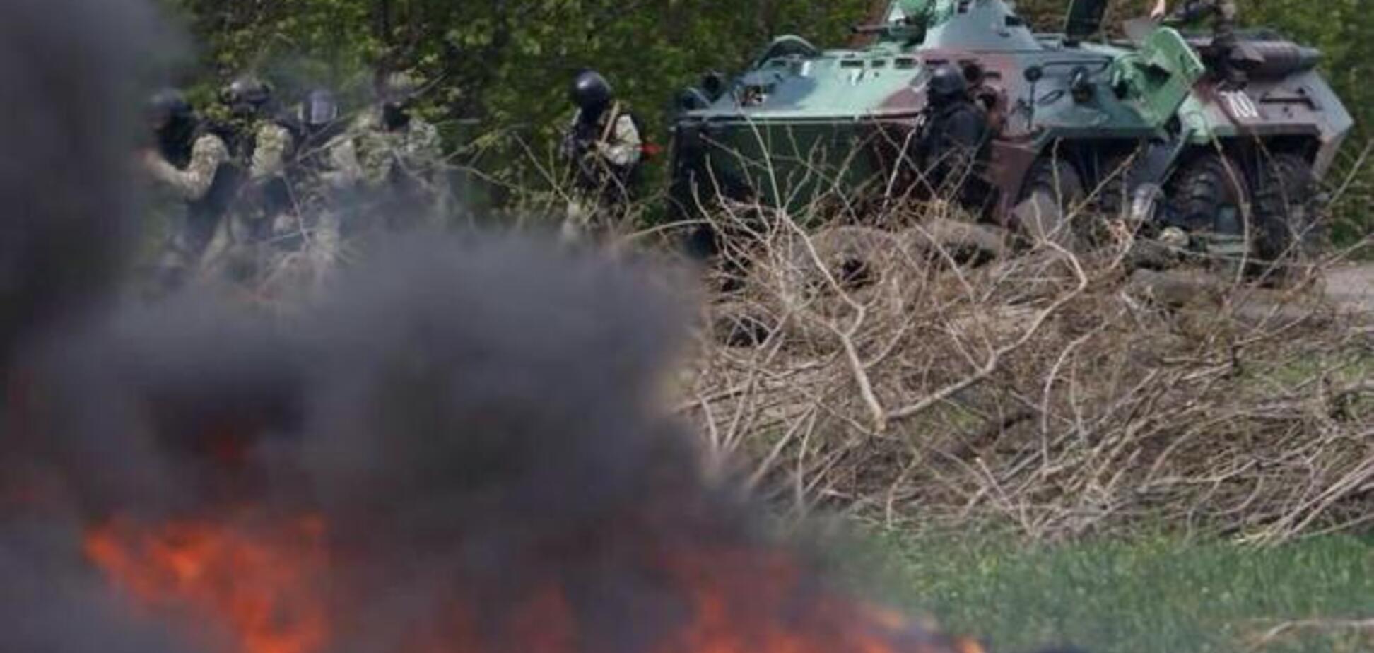 На Донбасі триває активна фаза АТО. Знищено 300 терористів - Селезньов