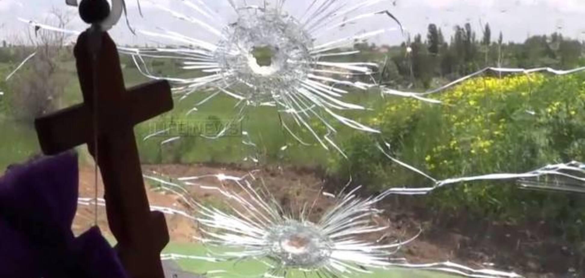У Донецькій області невідомі розстріляли два автомобіля