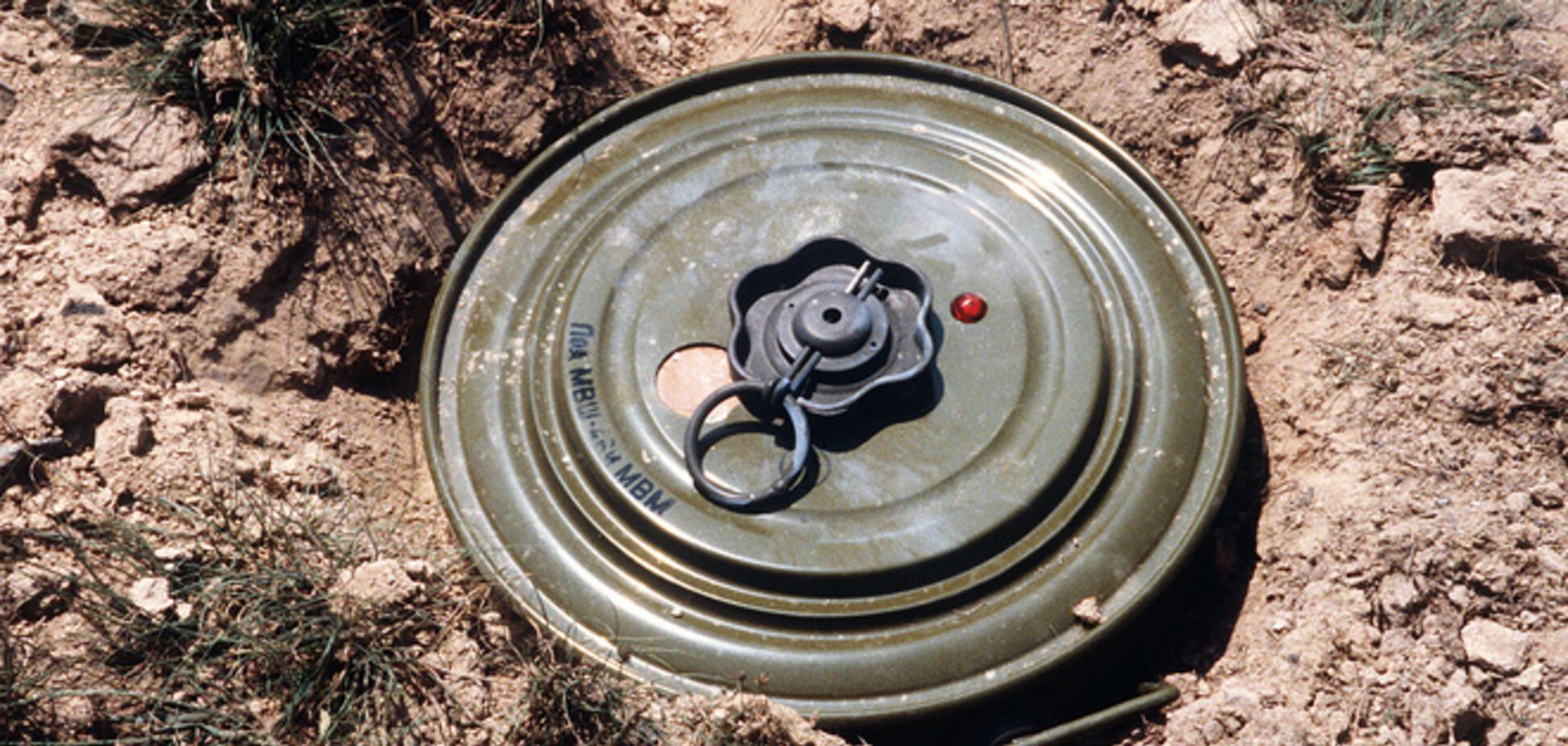 Шестеро террористов подорвались на мине в Краматорске