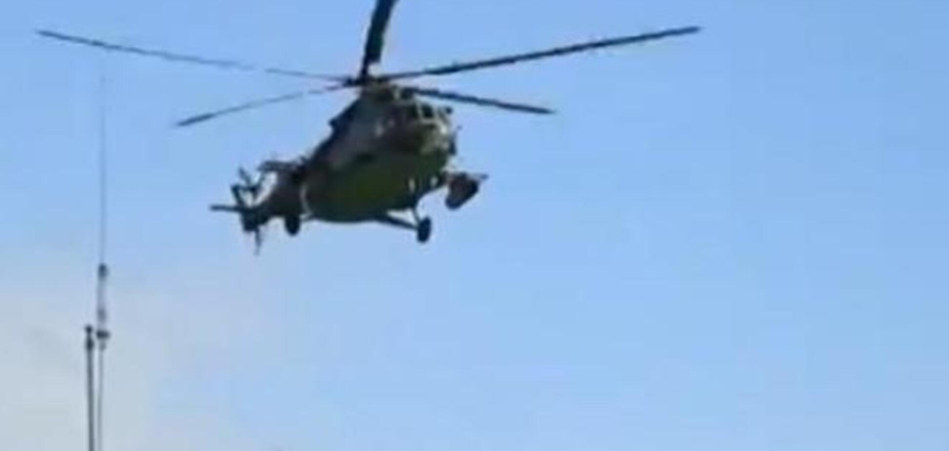 Террористы обстреляли в зоне АТО два вертолета - Селезнев