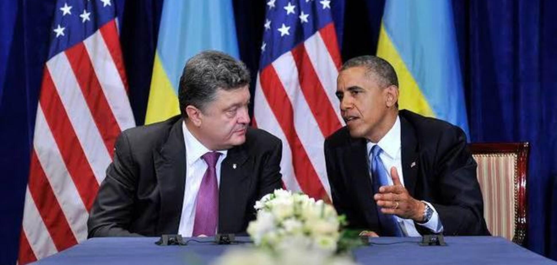 Обама назвав обрання Порошенка 'мудрим вибором' і виділив Україні $ 5 млн
