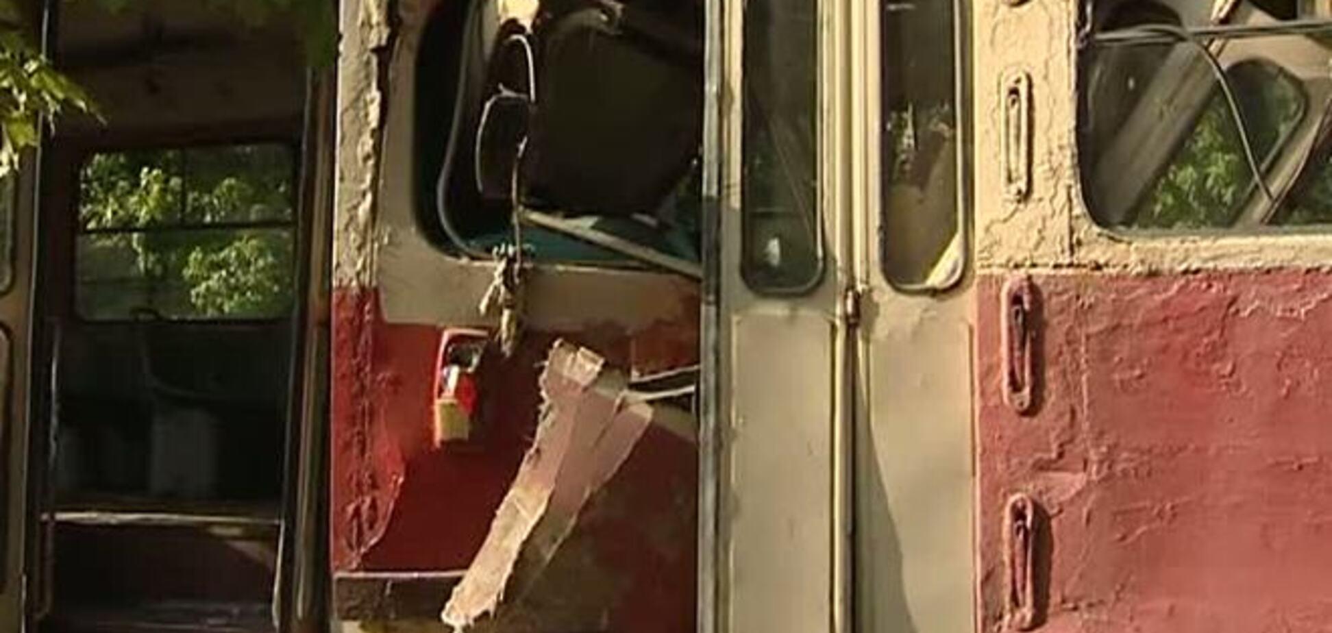 В Харькове столкнулись два трамвая: 12 пострадавших